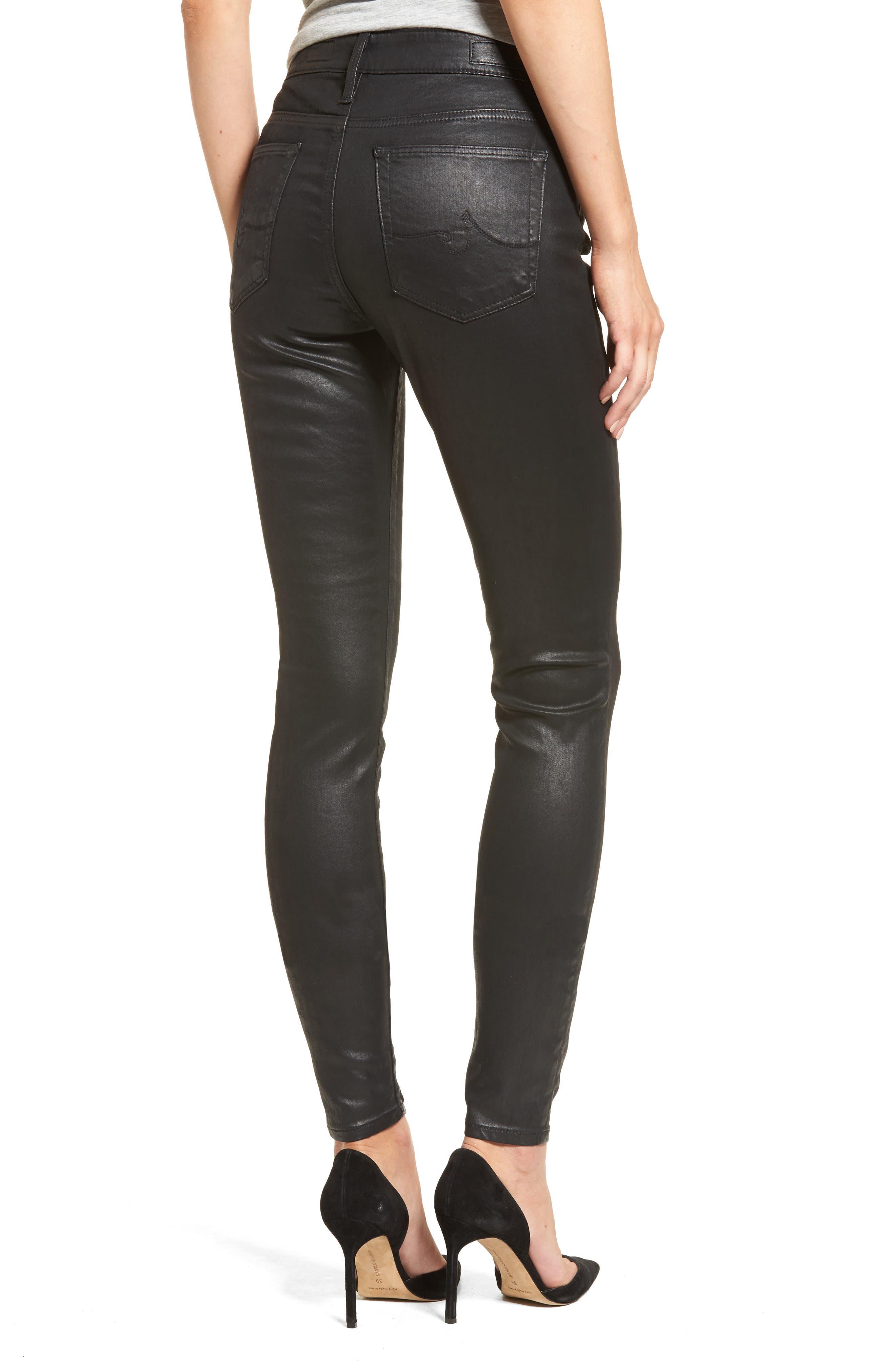 The Farrah High Rise Skinny Jeans,                             Alternate thumbnail 5, color,