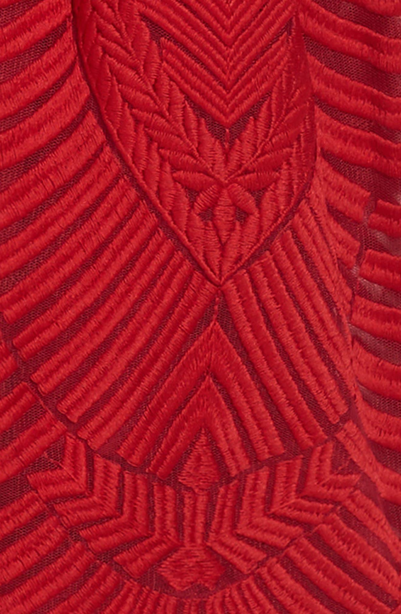 Sybil Lace Dress,                             Alternate thumbnail 3, color,                             600