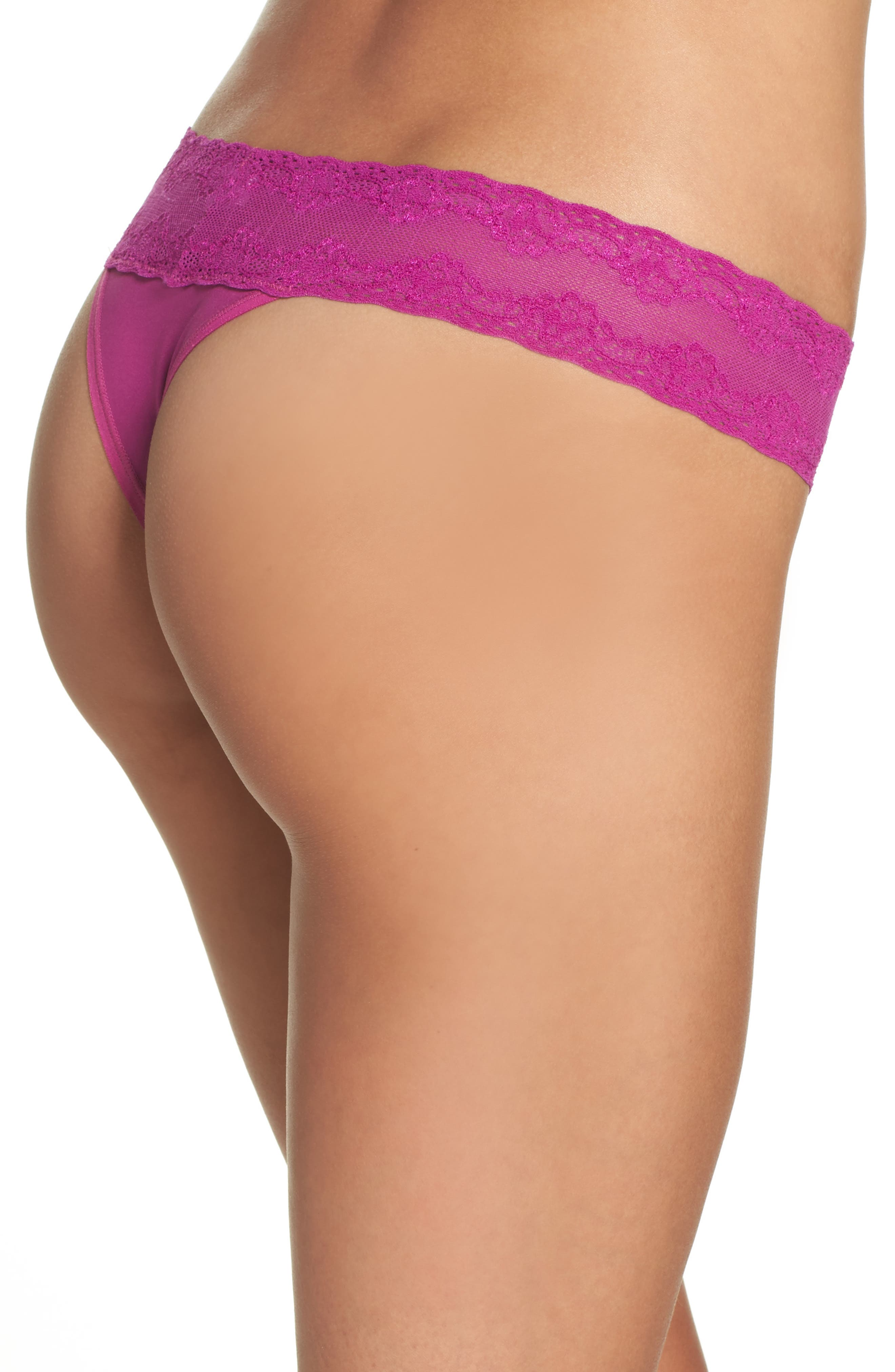 Bliss Perfection Thong,                             Alternate thumbnail 176, color,