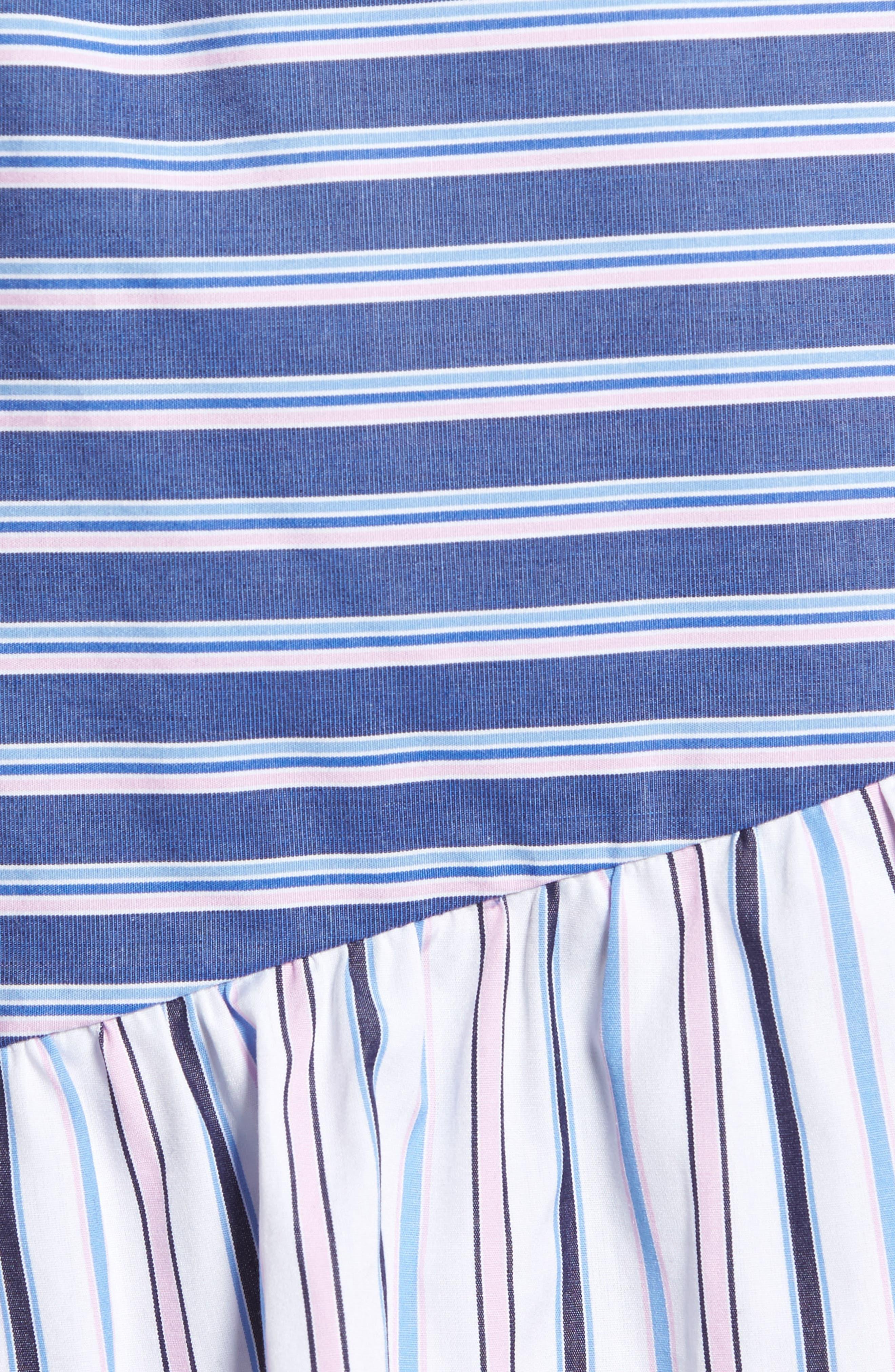 Brooklyn Ruffle Dress,                             Alternate thumbnail 5, color,                             400