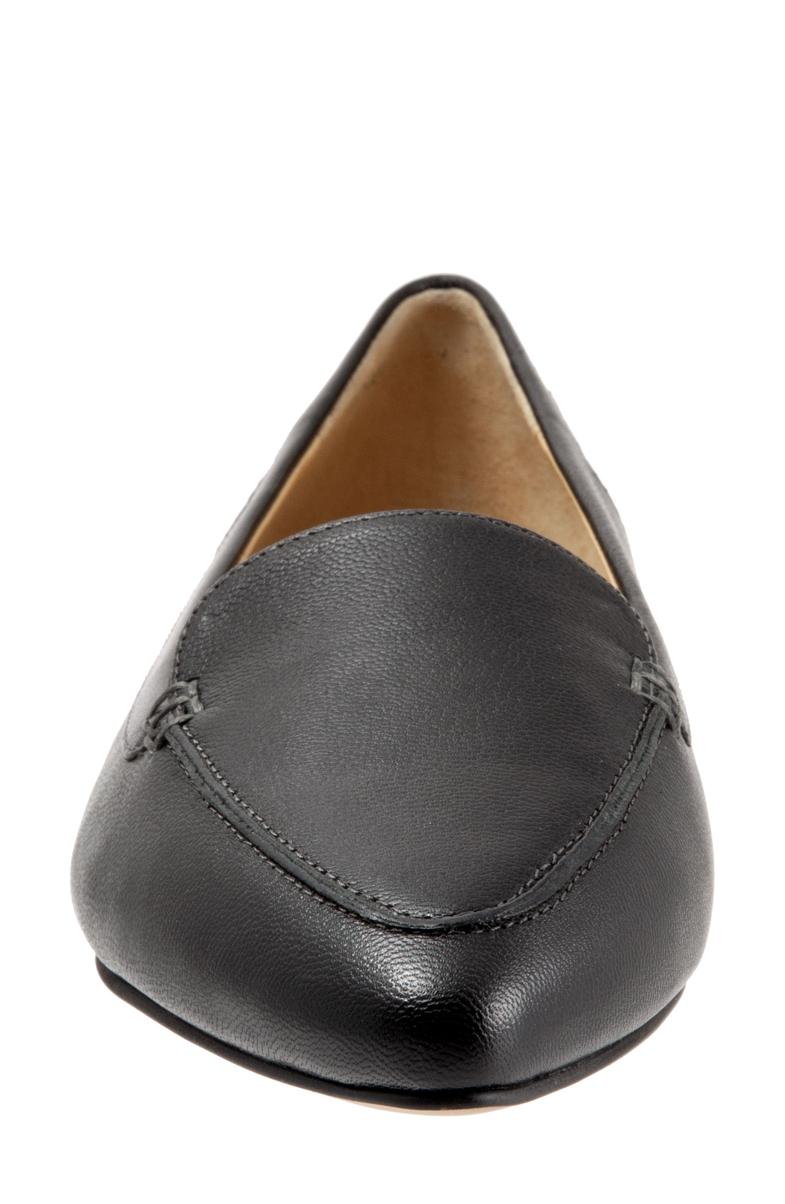Ember Flat,                             Alternate thumbnail 4, color,                             BLACK LEATHER
