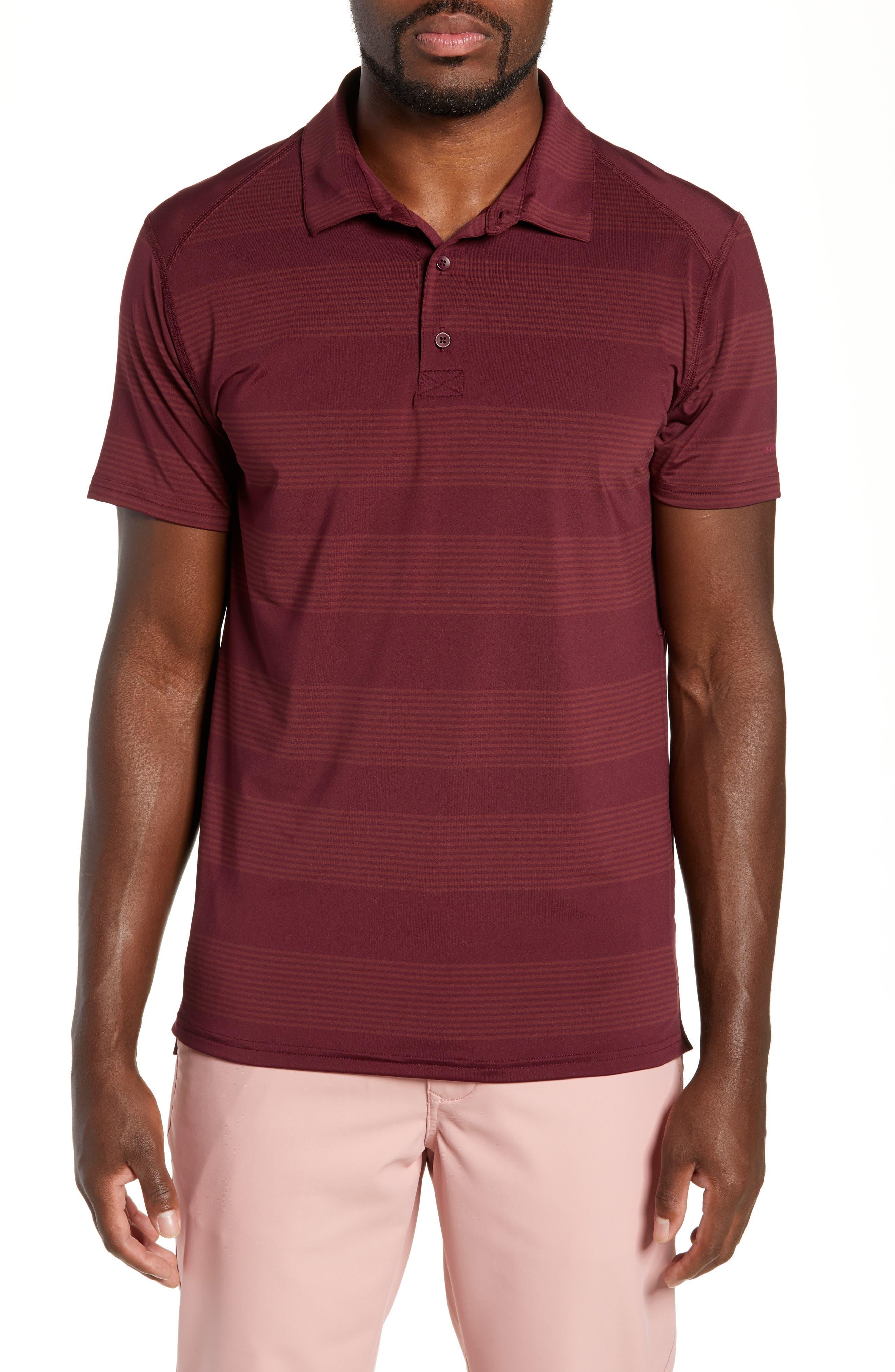 BONOBOS,                             Flatiron Slim Fit Stripe Golf Polo,                             Main thumbnail 1, color,                             600
