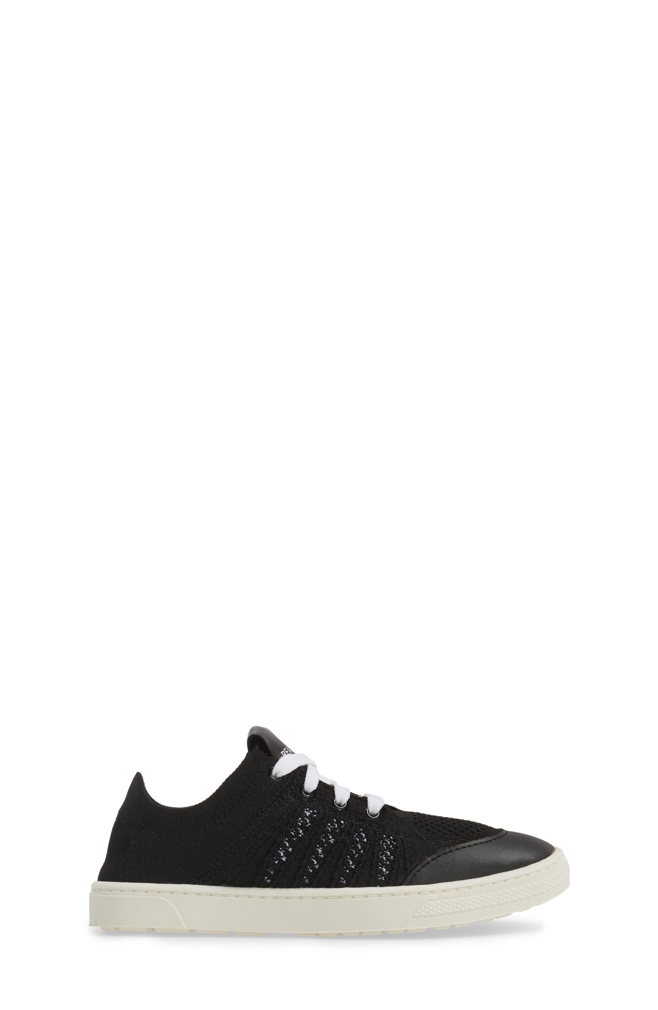 Kick Insight Woven Sneaker,                             Alternate thumbnail 3, color,                             001