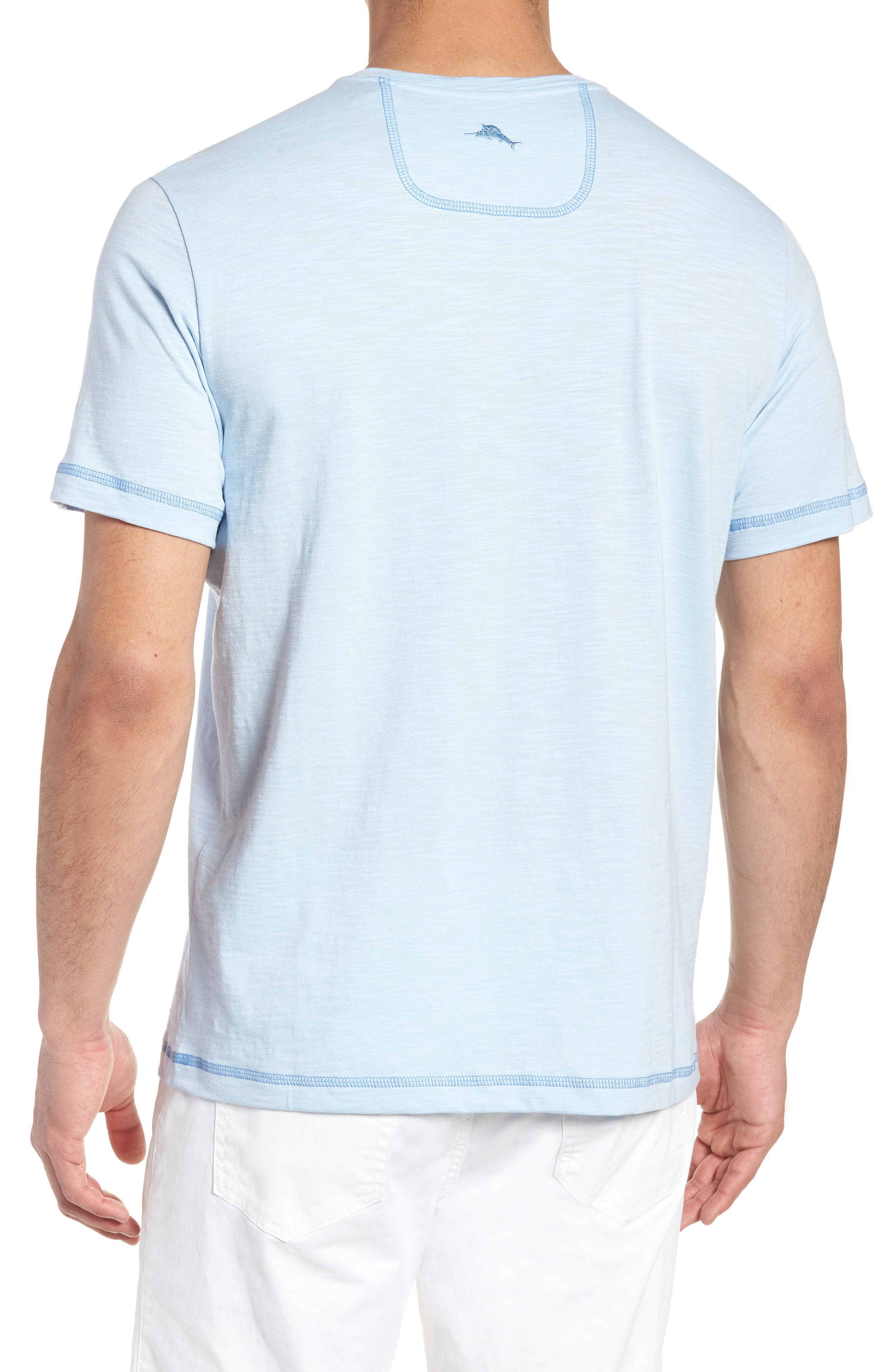 Portside Palms V-Neck T-Shirt,                             Alternate thumbnail 14, color,