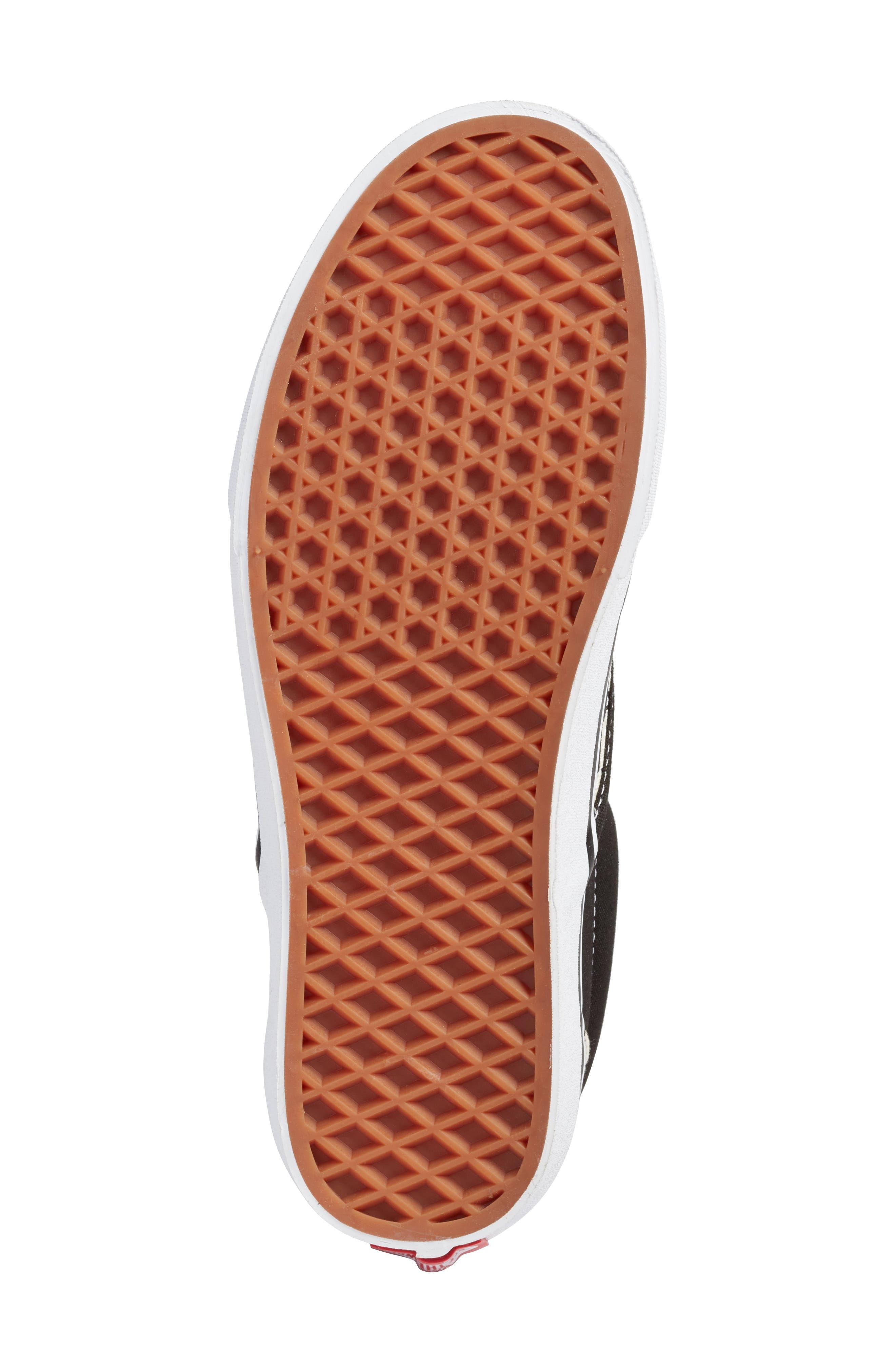 UA Classic Slip-On Sneaker,                             Alternate thumbnail 6, color,                             CHECKER/ ROSE