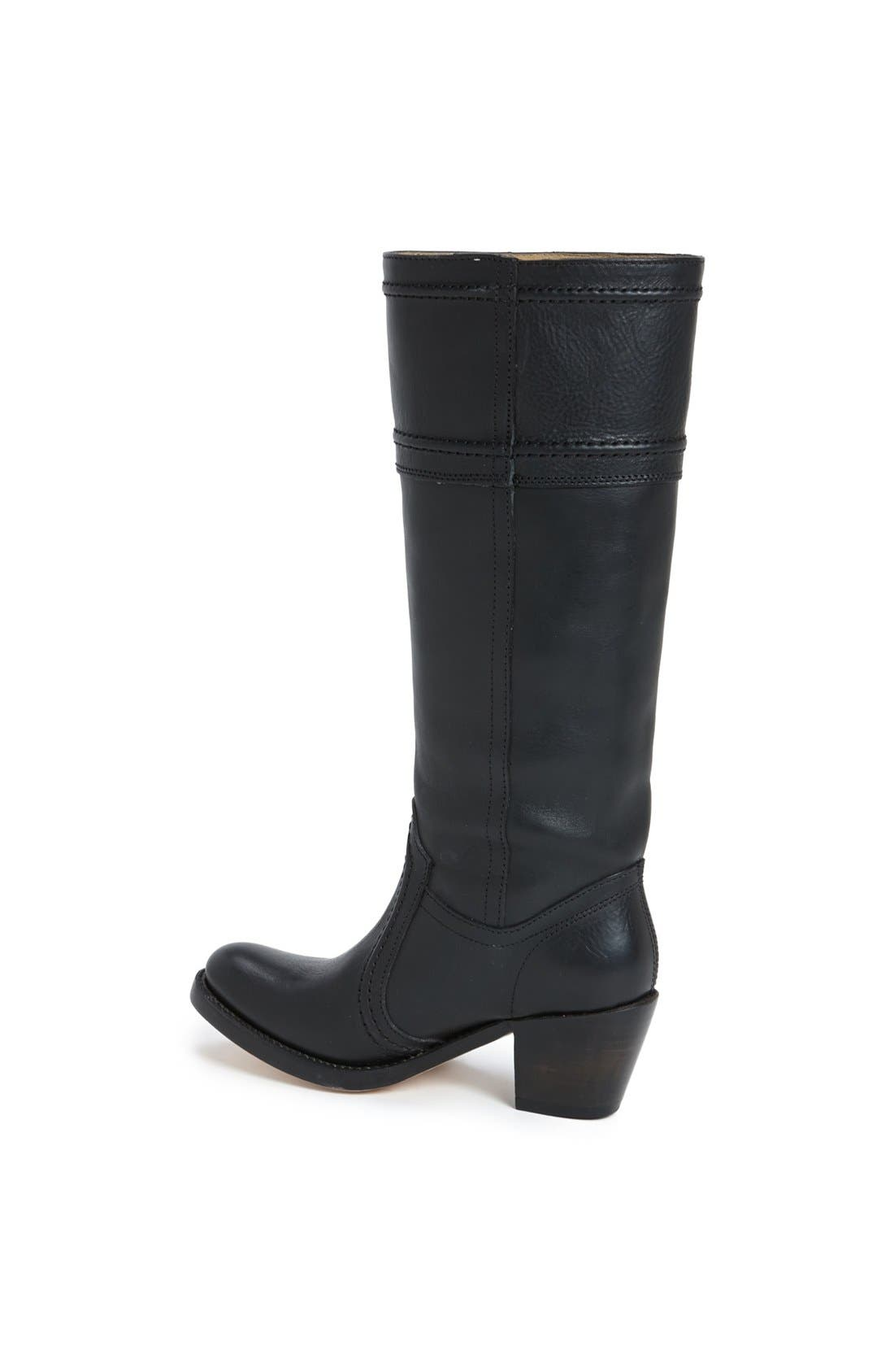 'Jane 14' Tall Pull-On Boot,                             Alternate thumbnail 2, color,                             001