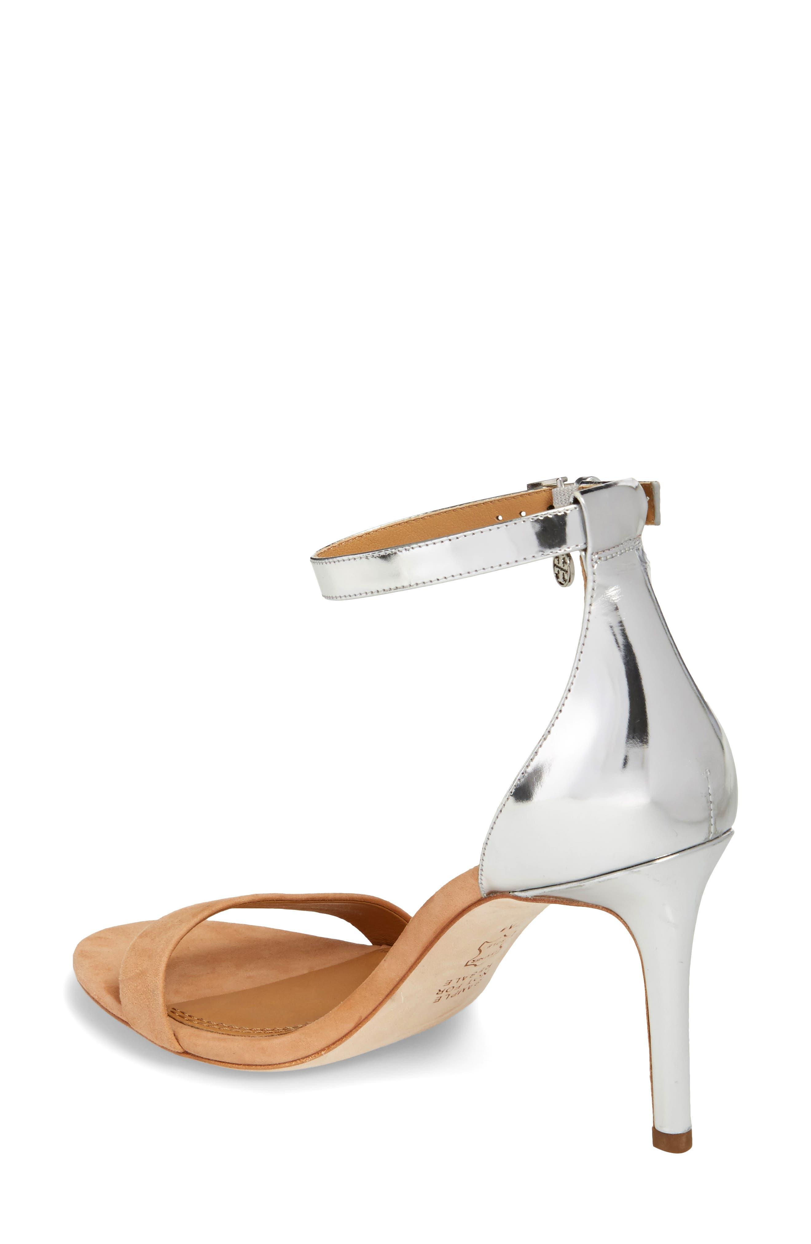 Ellie Ankle Strap Sandal,                             Alternate thumbnail 2, color,                             020