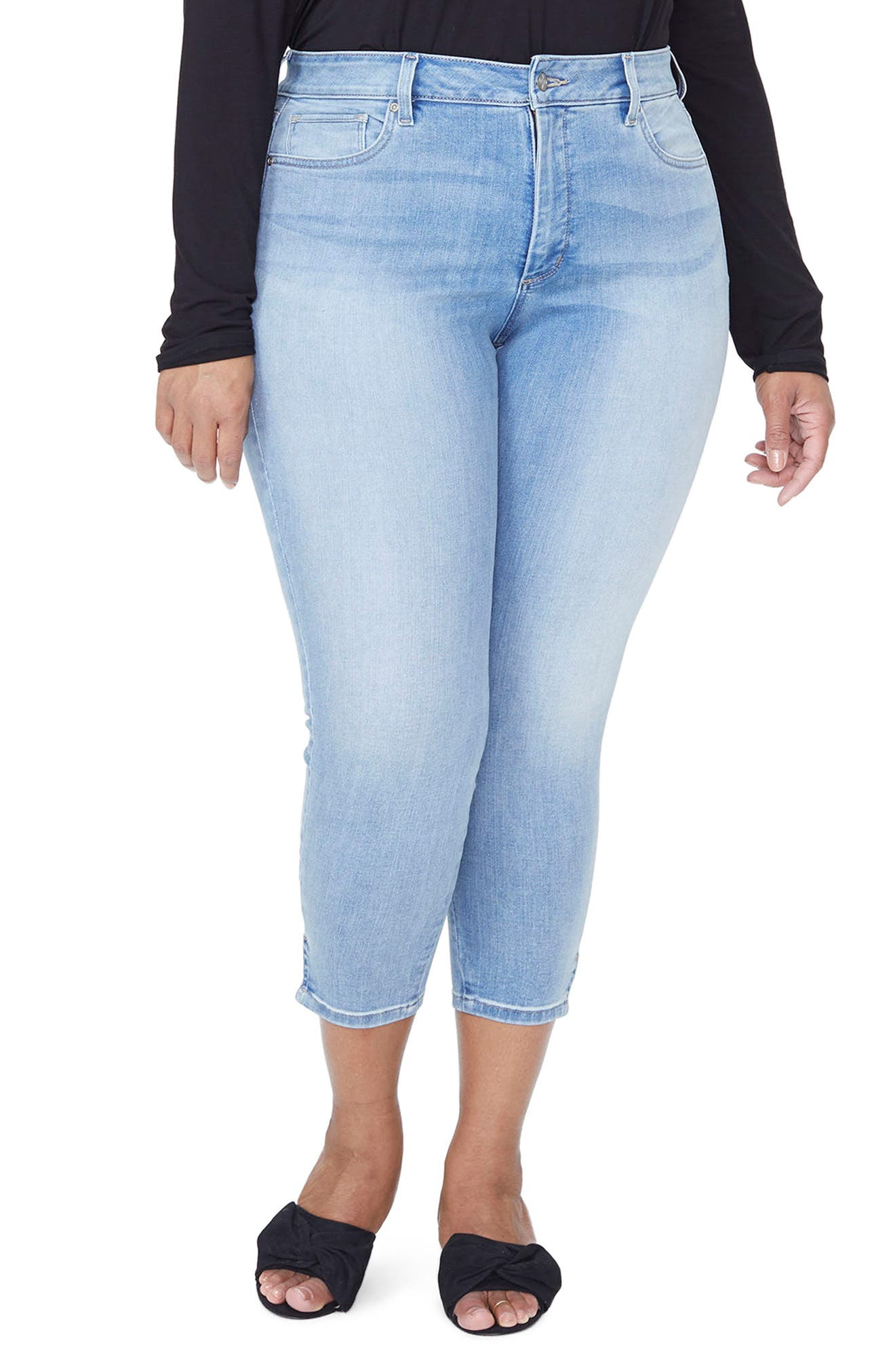 Ami High Rise Ankle Skinny Jeans, Main, color, DREAM STATE