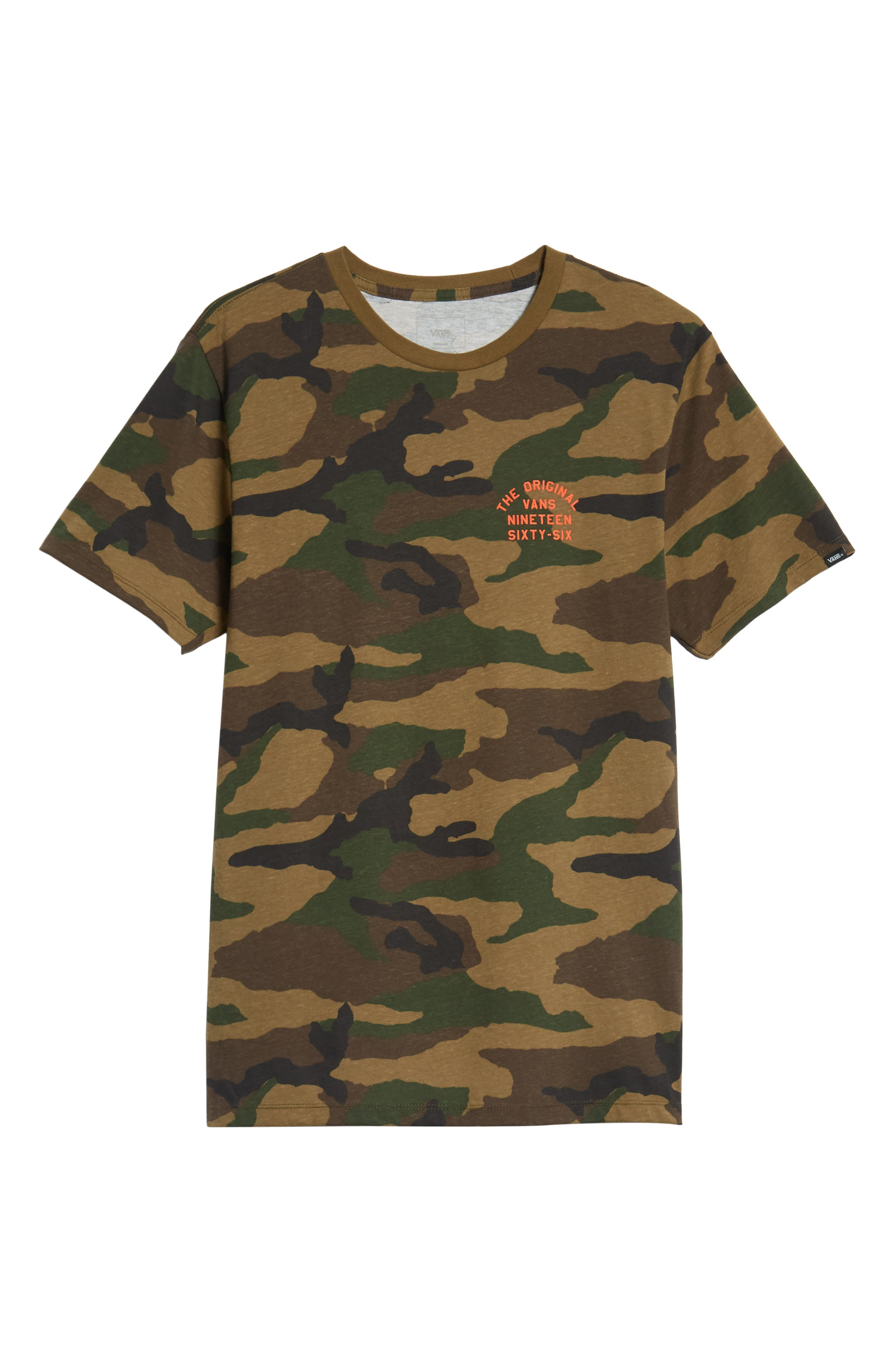 VANS,                             Spring Training T-Shirt,                             Alternate thumbnail 6, color,                             300