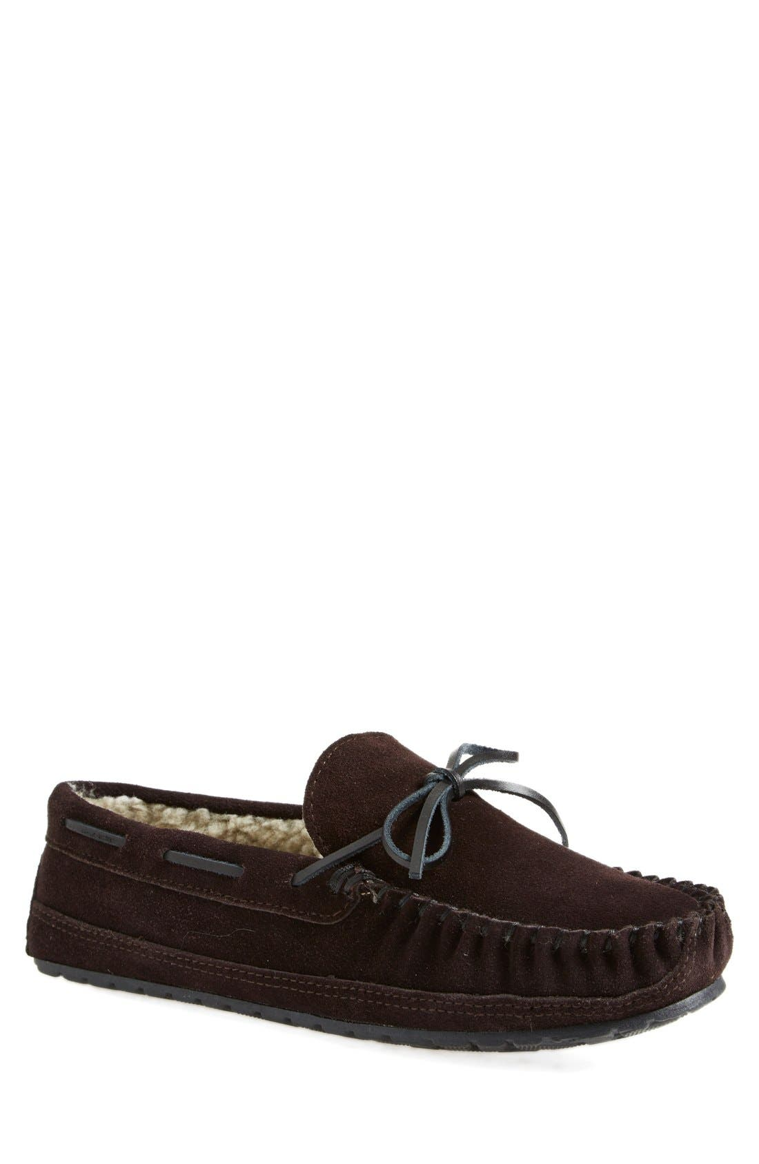 'Potomac' Moccasin Slipper,                             Main thumbnail 1, color,                             220