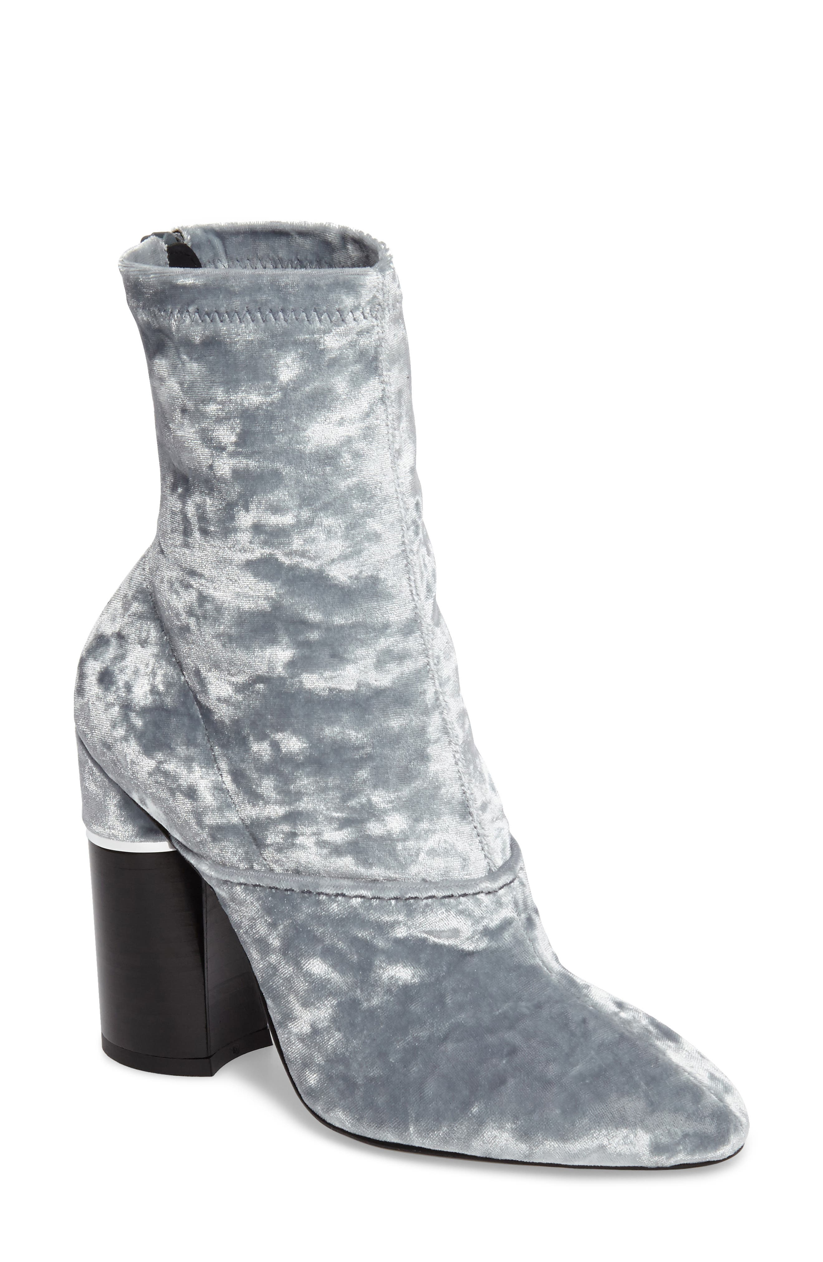 'Kyoto' Crushed Velvet Boot,                         Main,                         color, 020