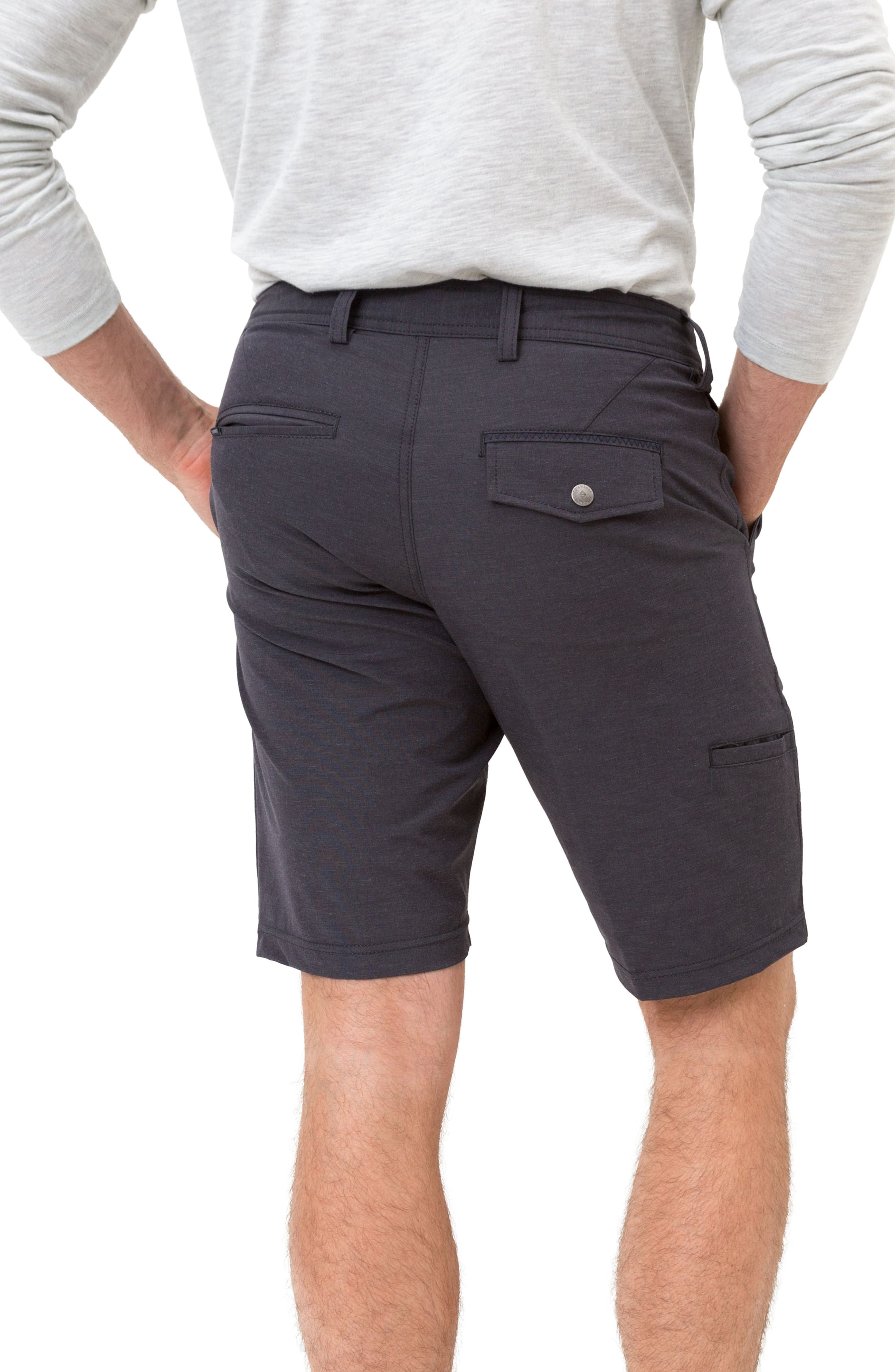 Velocity Hybrid Shorts,                             Alternate thumbnail 2, color,                             CHARCOAL