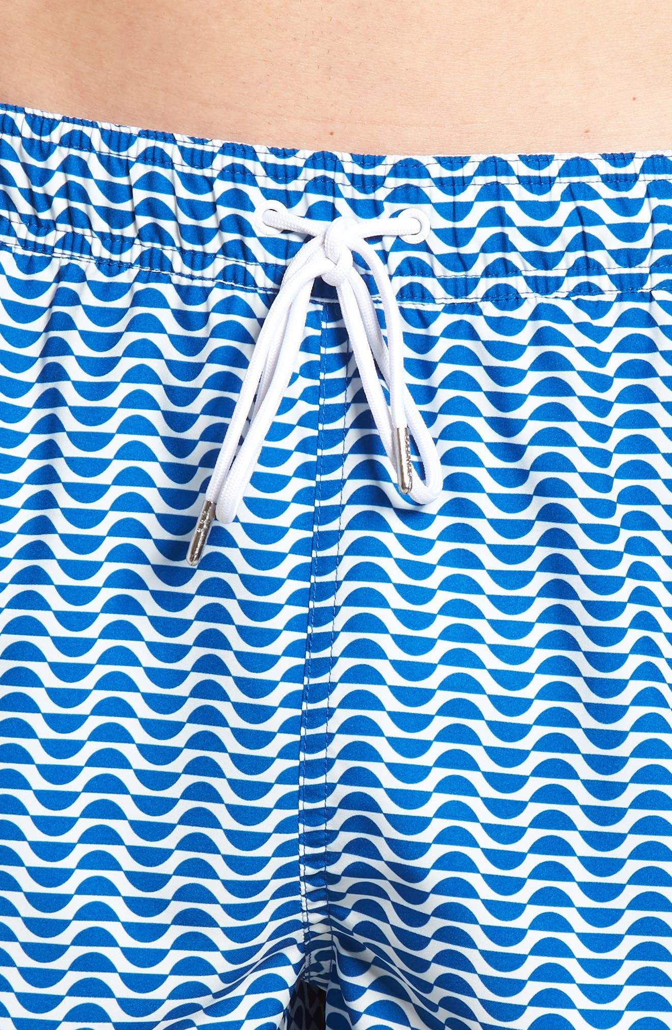 Banzai 7-Inch Swim Trunks,                             Alternate thumbnail 4, color,                             400