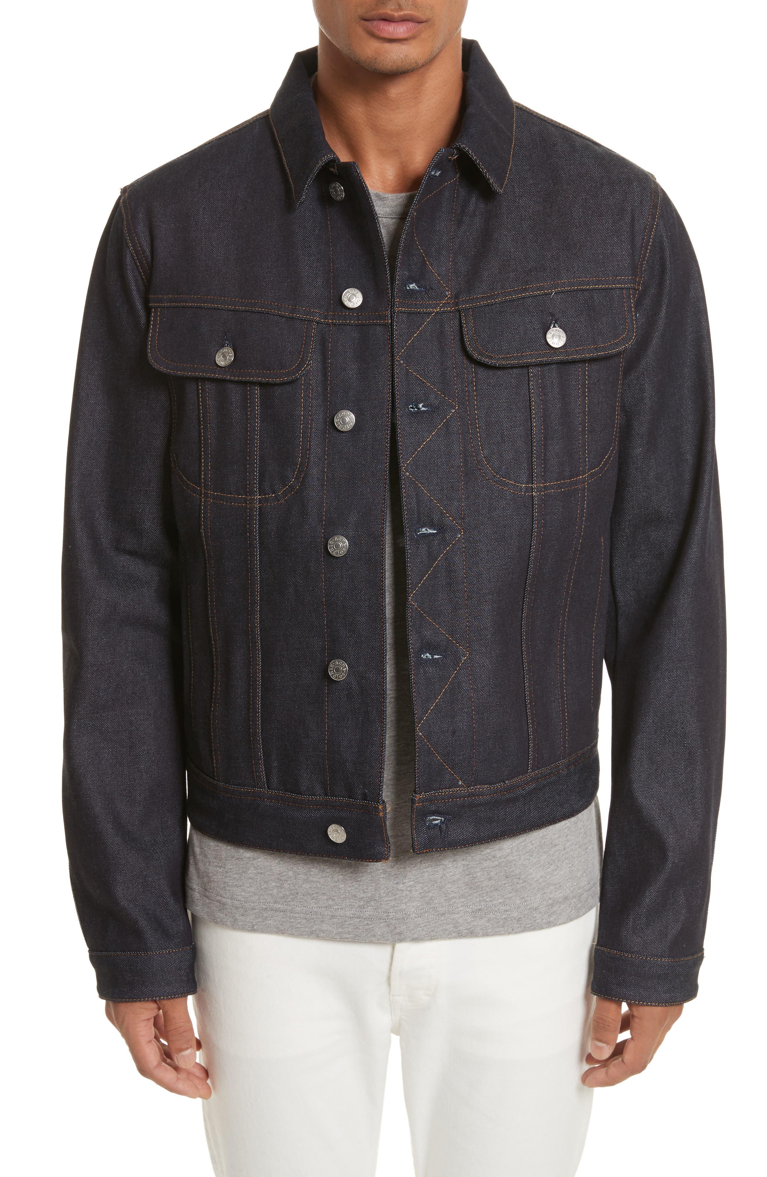Denim Jacket,                         Main,                         color, 402