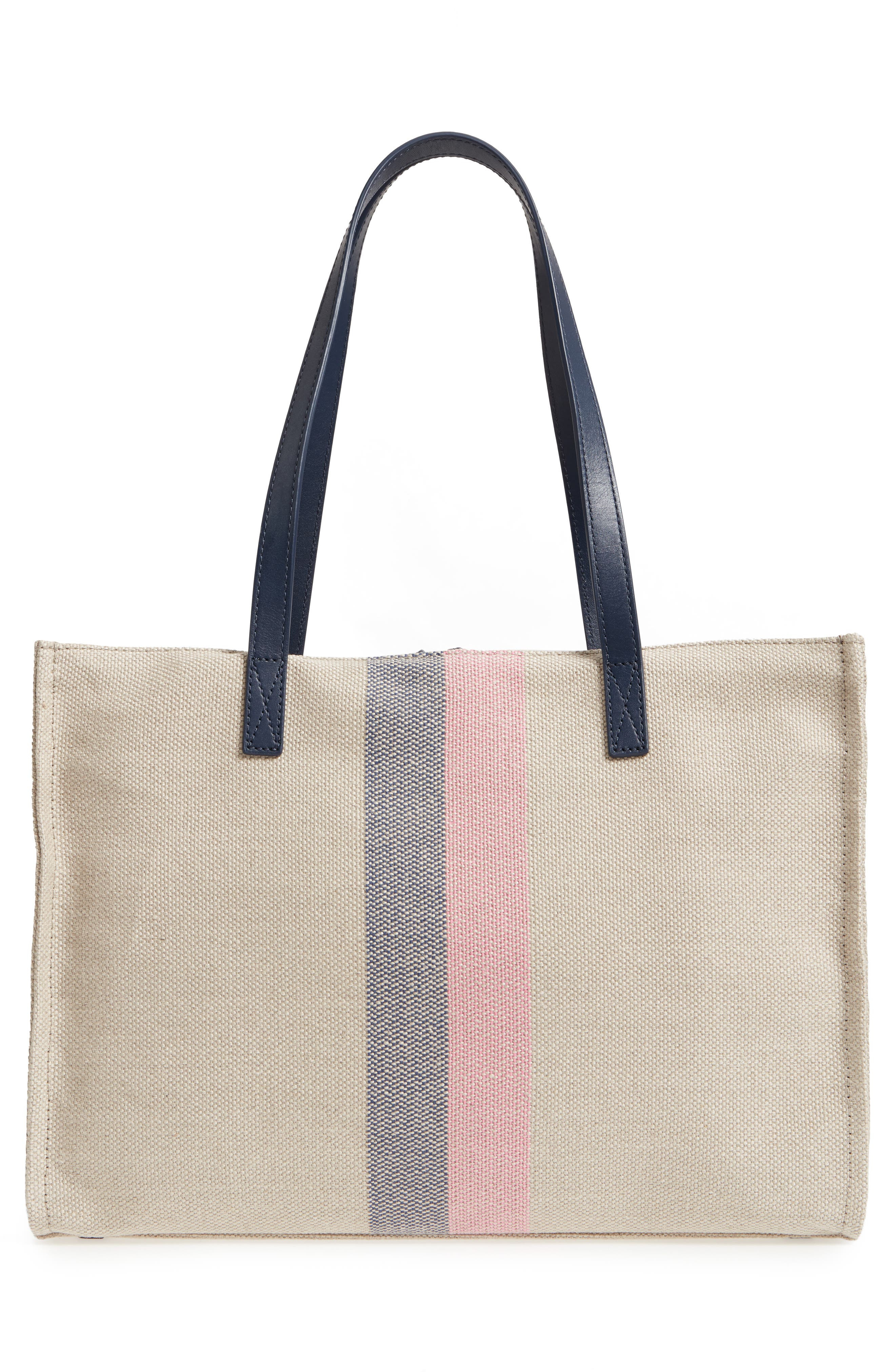 washington square - mega sam canvas shoulder bag,                             Alternate thumbnail 3, color,                             020