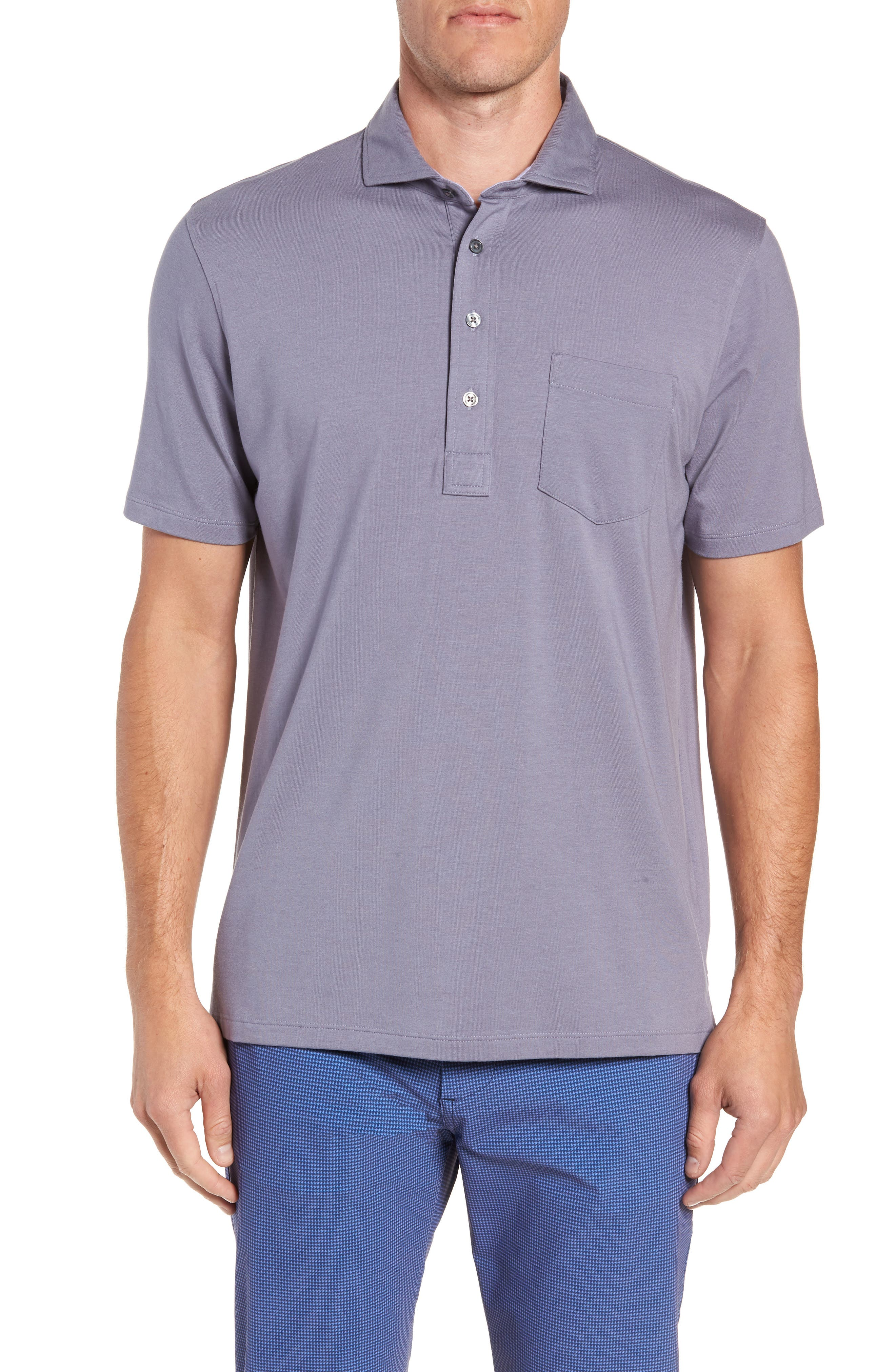 Jersey Polo,                         Main,                         color, STORM