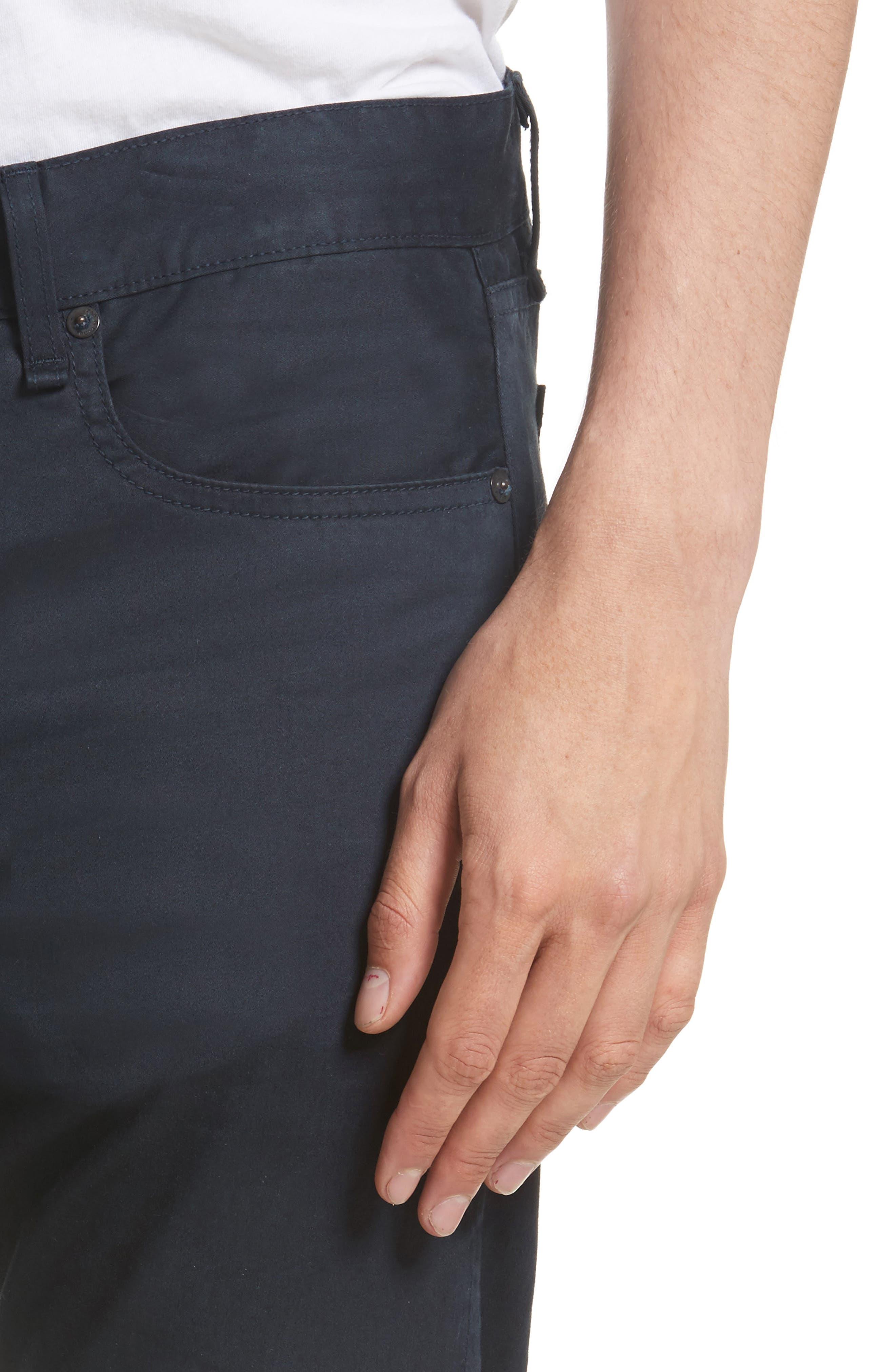 Fit 2 Five-Pocket Twill Pants,                             Alternate thumbnail 4, color,                             NAVY