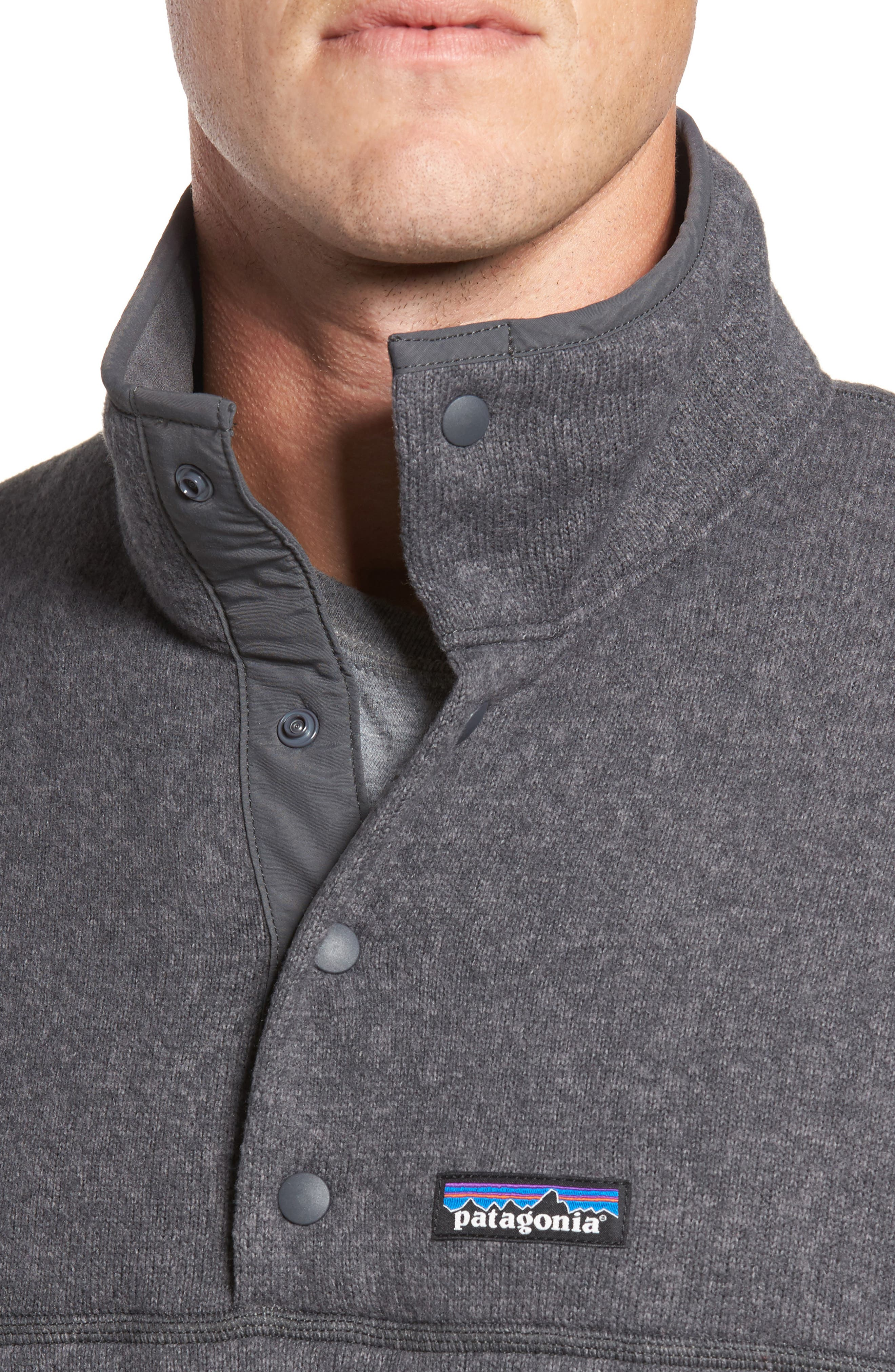 Lightweight Better Sweater Pullover,                             Alternate thumbnail 4, color,                             FORGE GREY