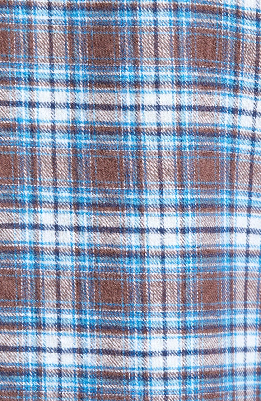 '824' Flannel Pajama Set,                             Alternate thumbnail 52, color,