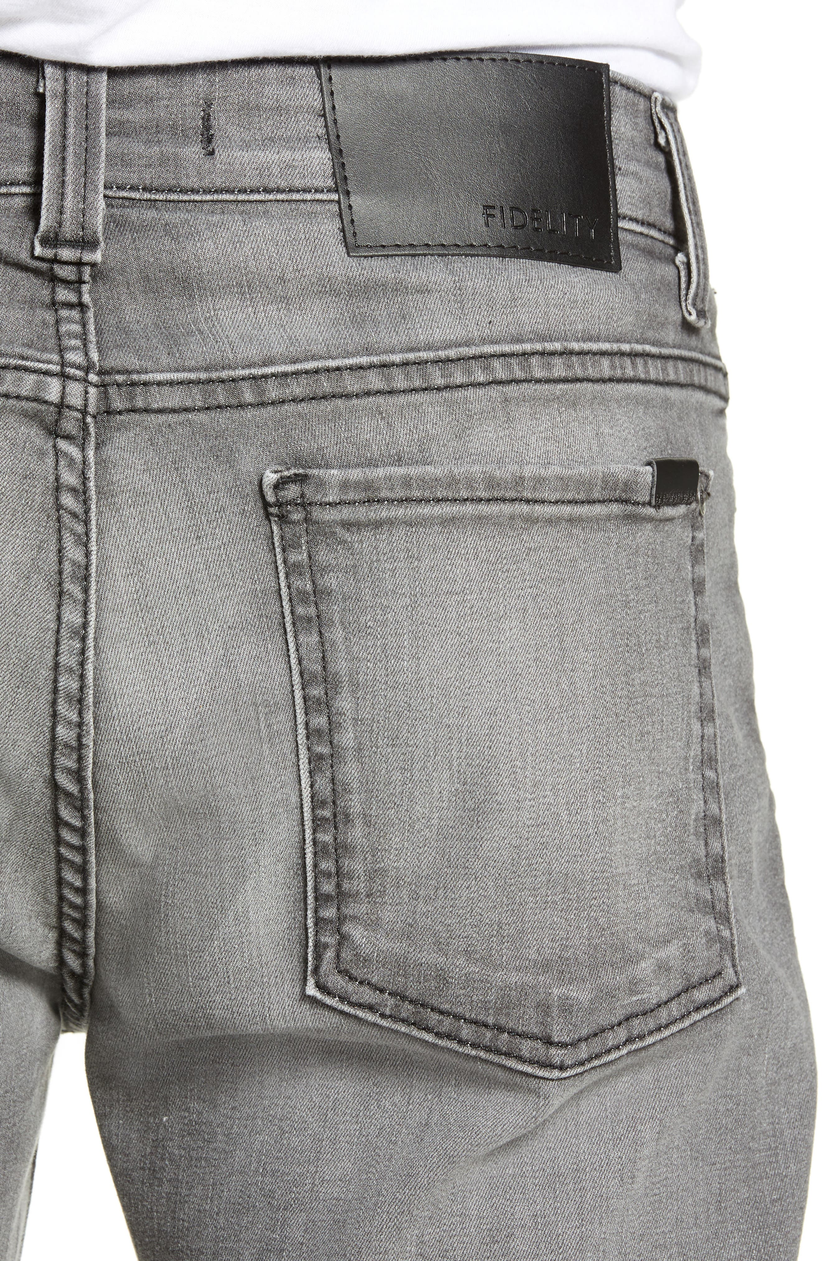 Torino Slim Fit Jeans,                             Alternate thumbnail 4, color,                             PHANTOM GREY