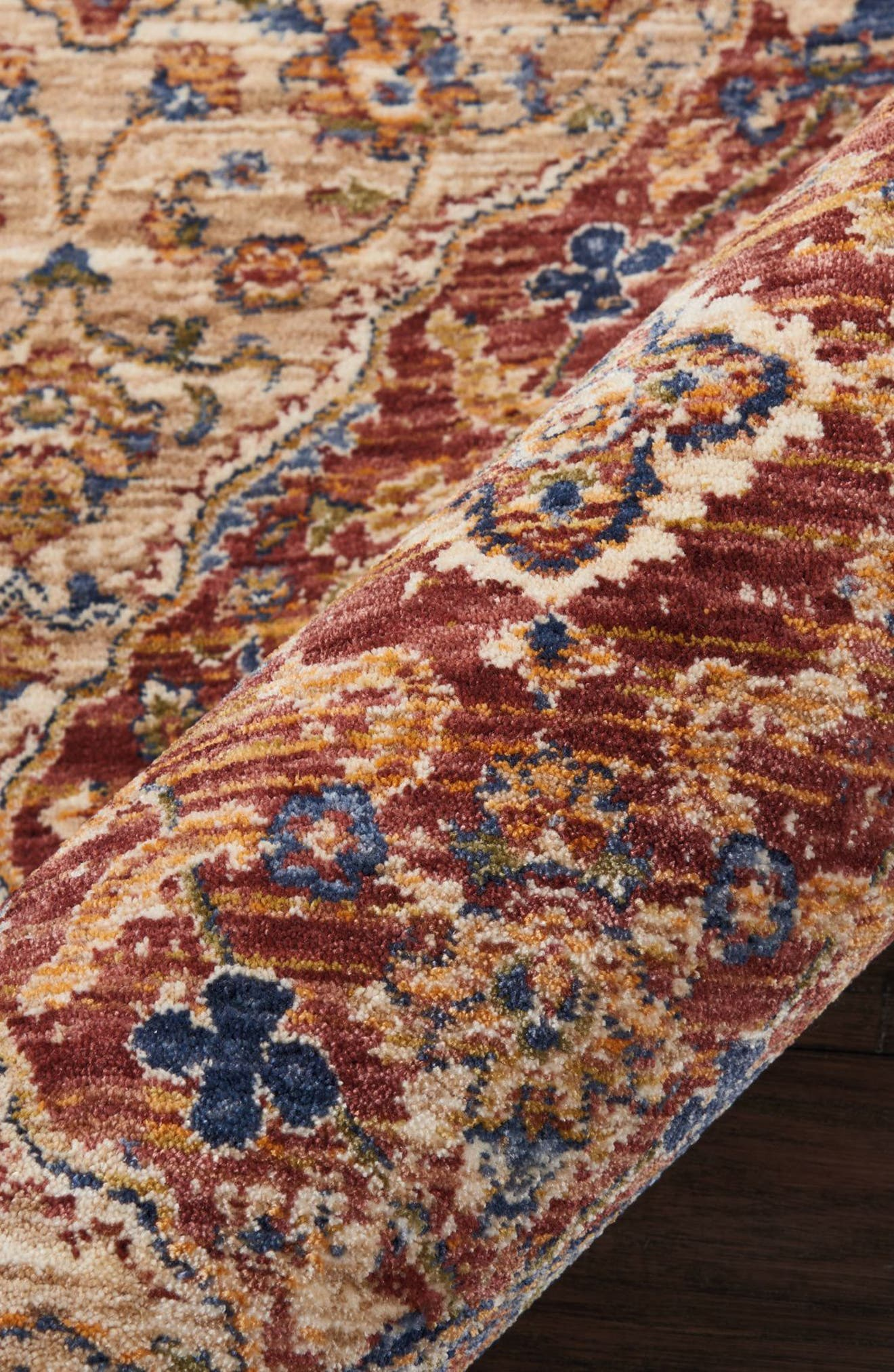 Reseda Rug,                             Alternate thumbnail 5, color,                             800