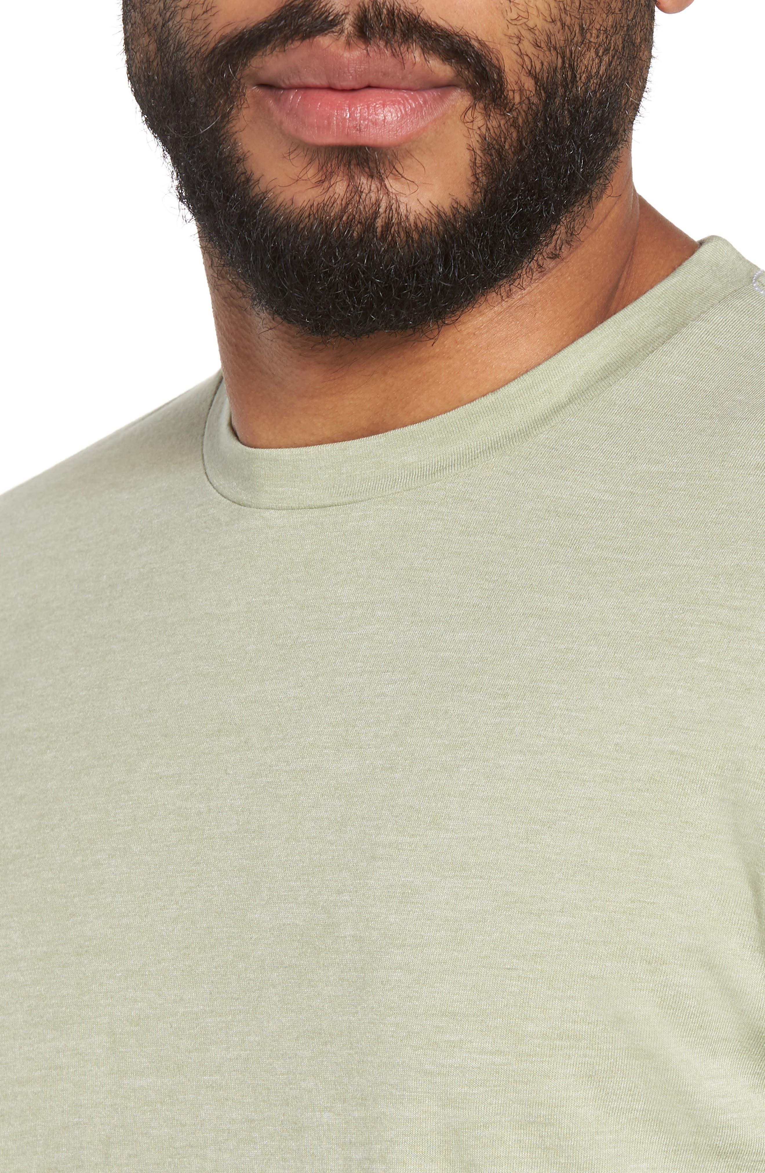 Scallop Triblend Crewneck T-Shirt,                             Alternate thumbnail 74, color,
