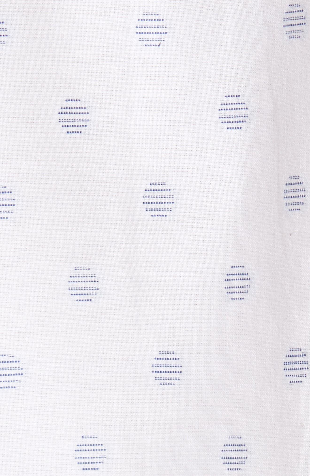 Cruisin Dobby Woven Shirt,                             Alternate thumbnail 5, color,                             100