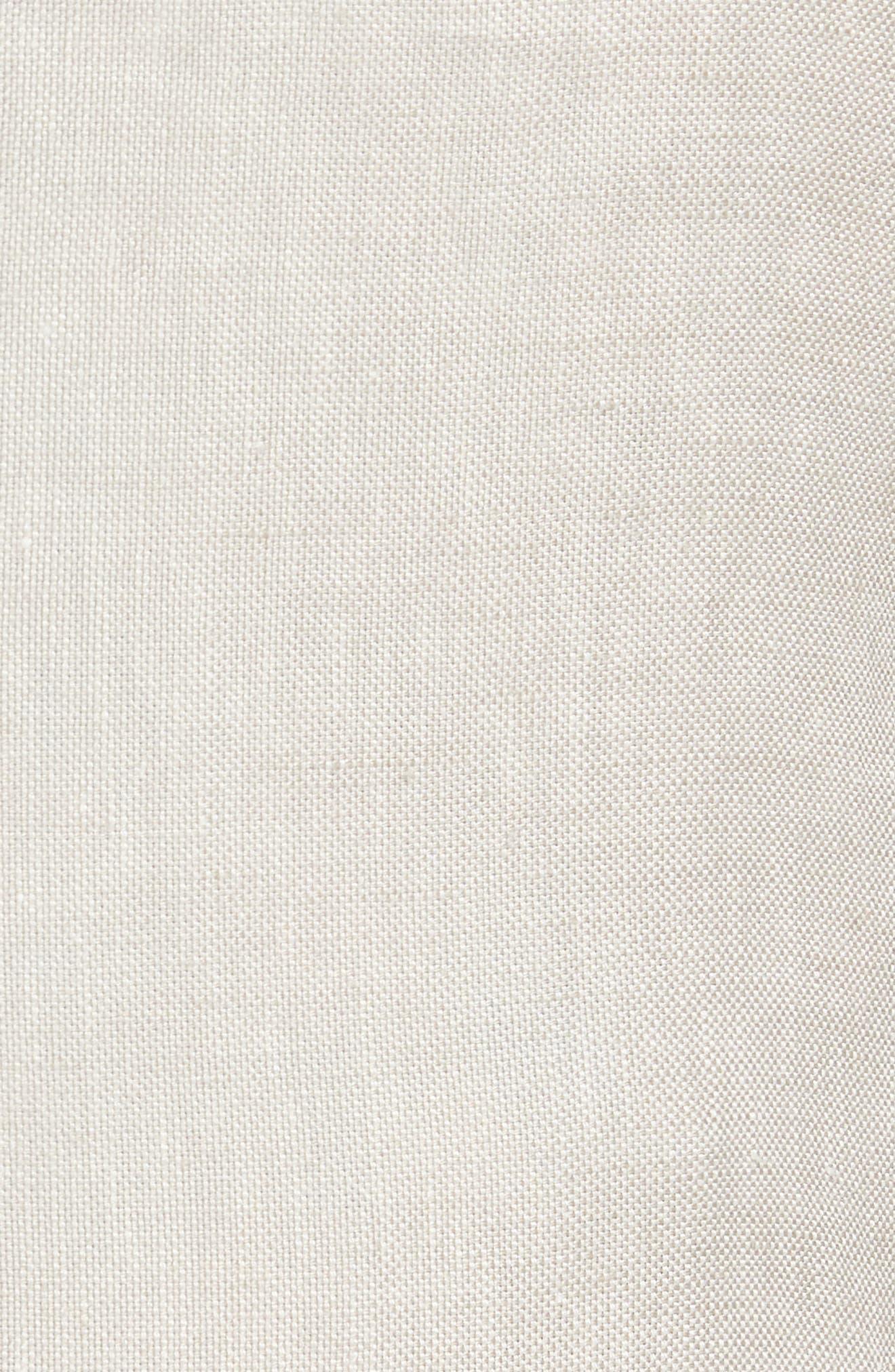 Unconstructed Linen Blazer,                             Alternate thumbnail 6, color,                             250