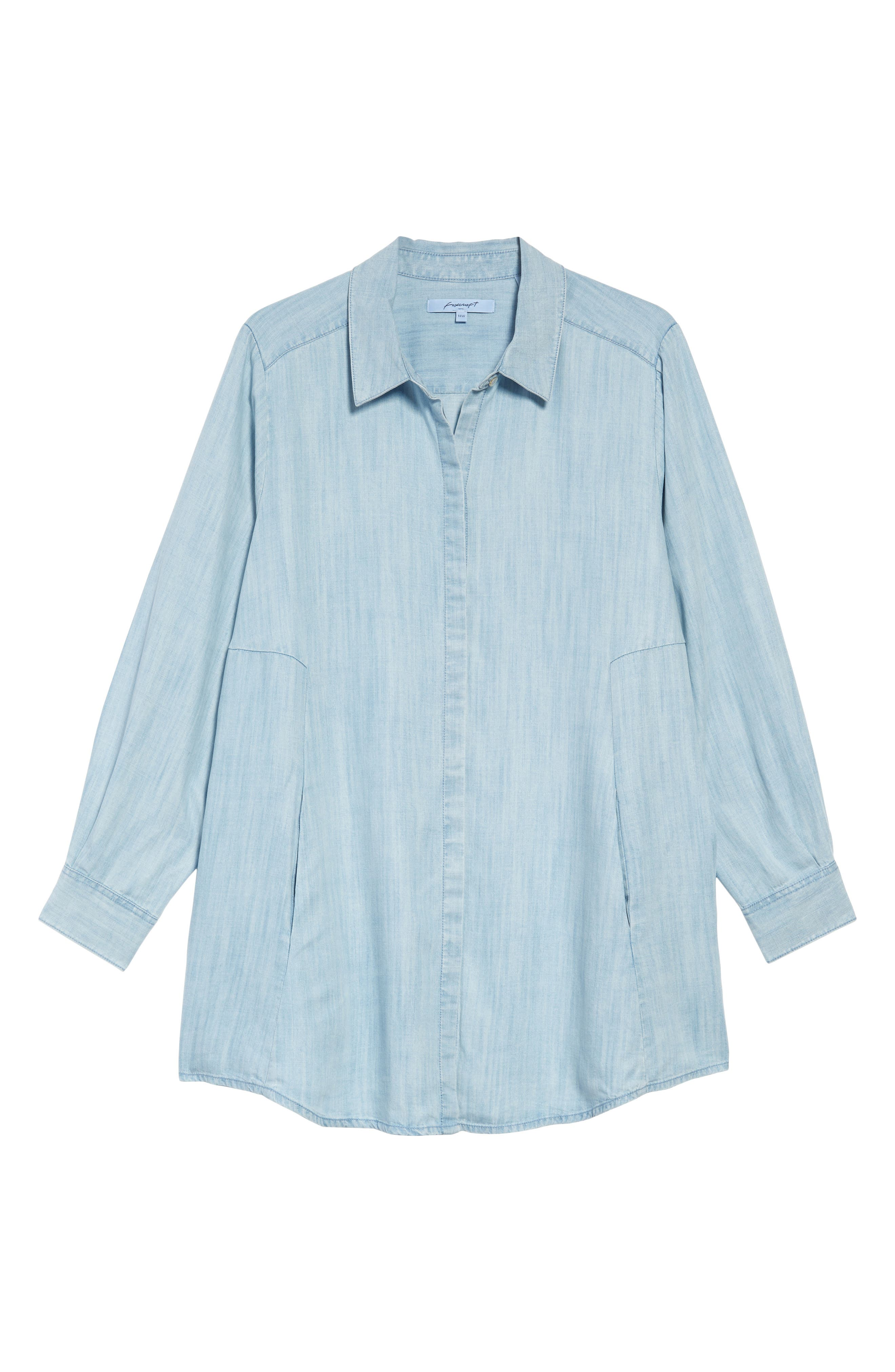 Chambray Tunic,                             Alternate thumbnail 19, color,
