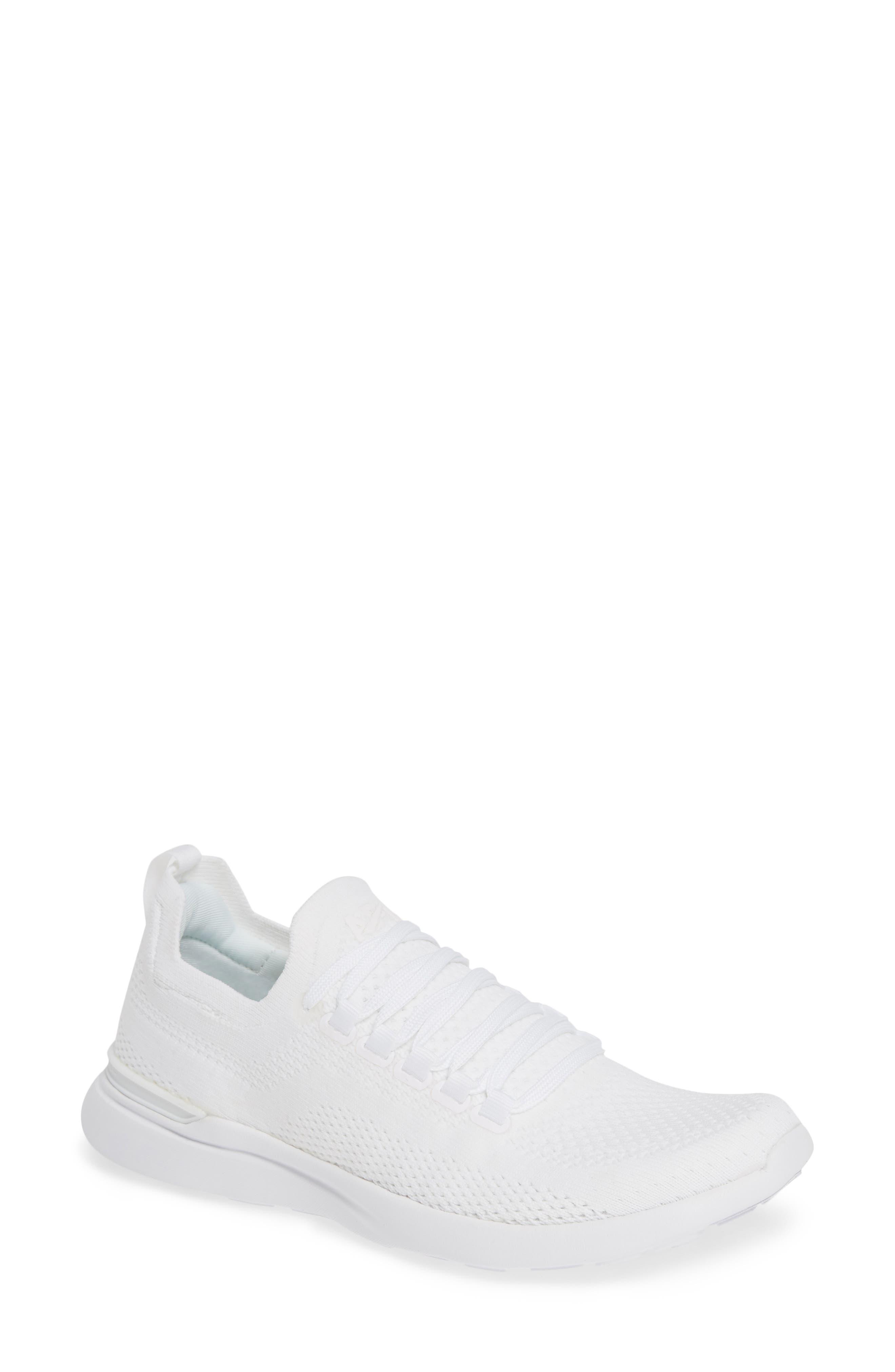 Techloom Breeze Knit Mesh Sneakers in White