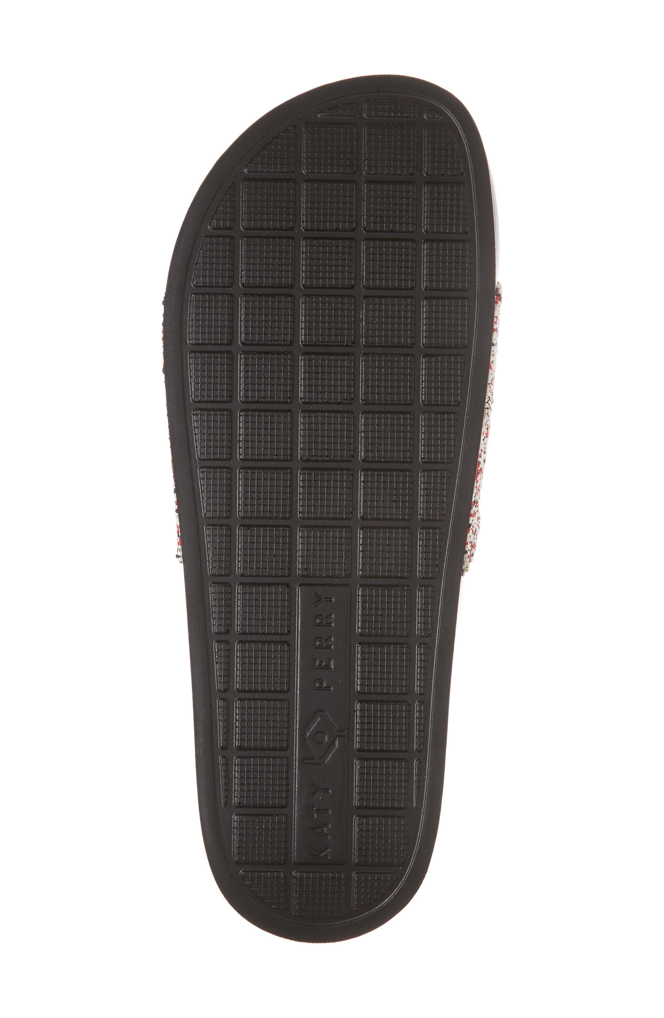 The Jimmi Slide Sandal,                             Alternate thumbnail 6, color,                             RED MULTI