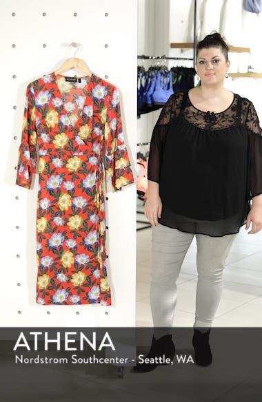 Reunion Floral Wrap Dress, sales video thumbnail