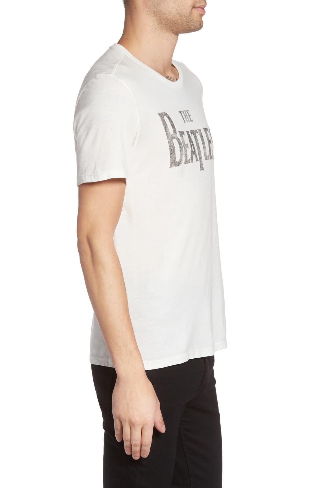 The Beatles Graphic Logo T-Shirt,                             Alternate thumbnail 7, color,                             103