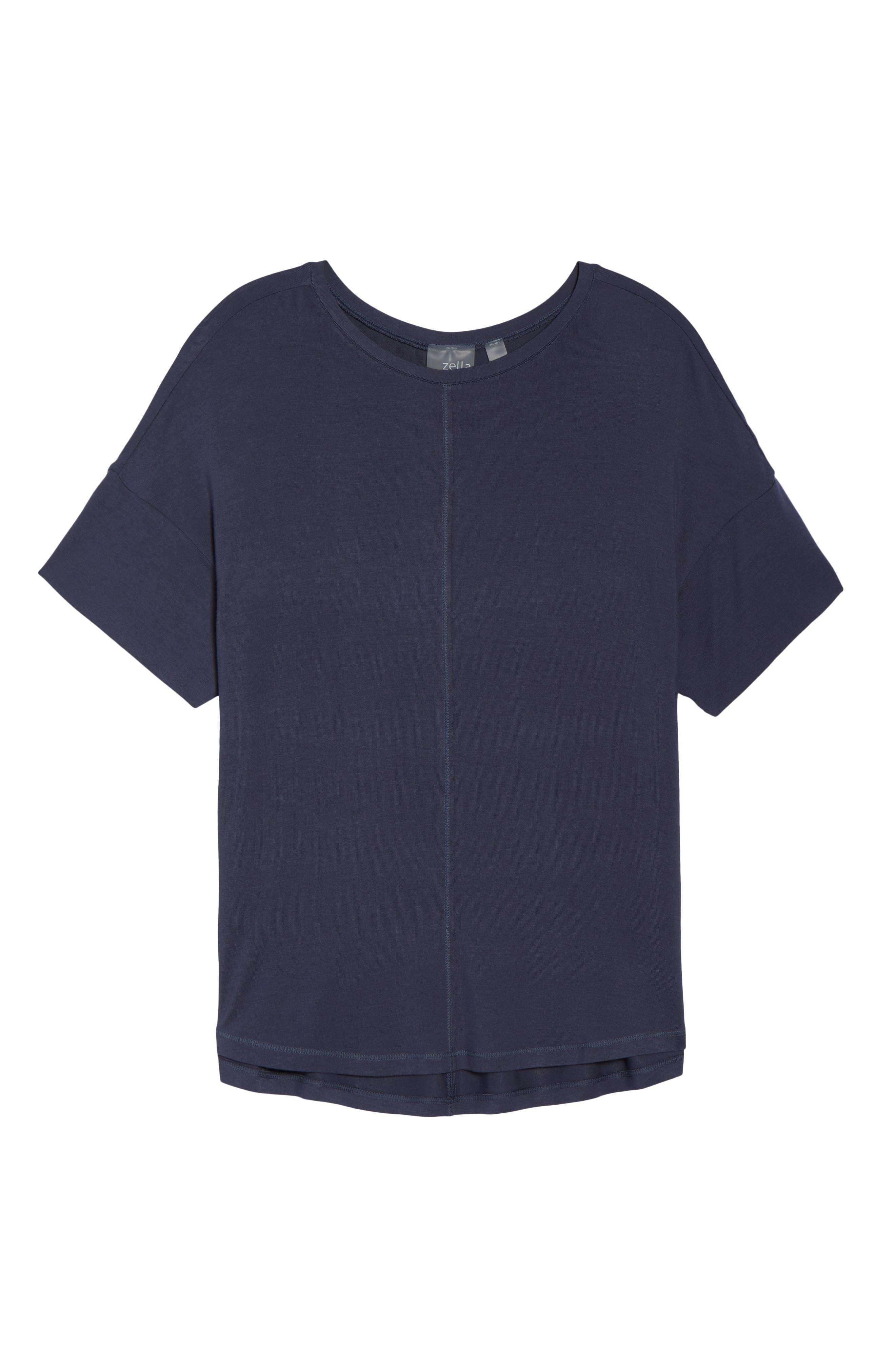 ZELLA,                             New Energy T-Shirt,                             Alternate thumbnail 7, color,                             GREY SLATE