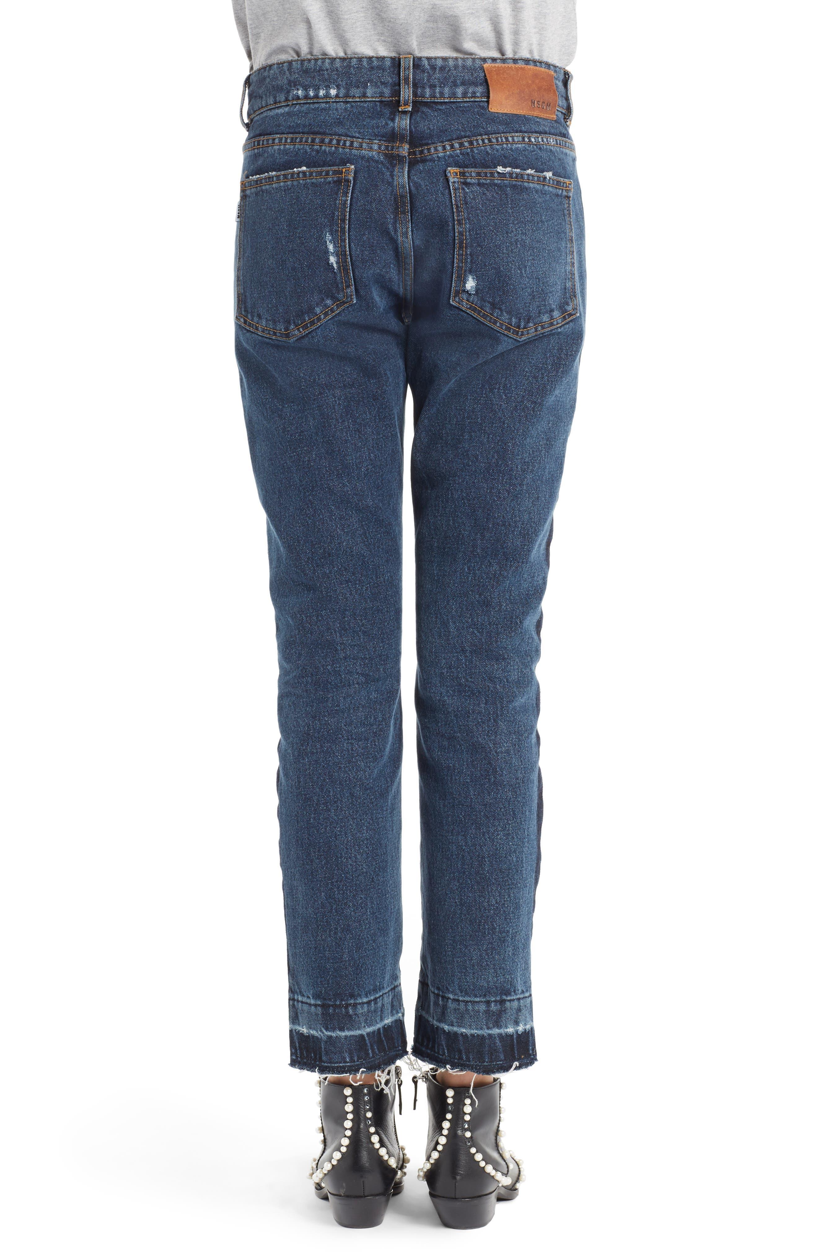 Paneled Jeans,                             Alternate thumbnail 2, color,                             400