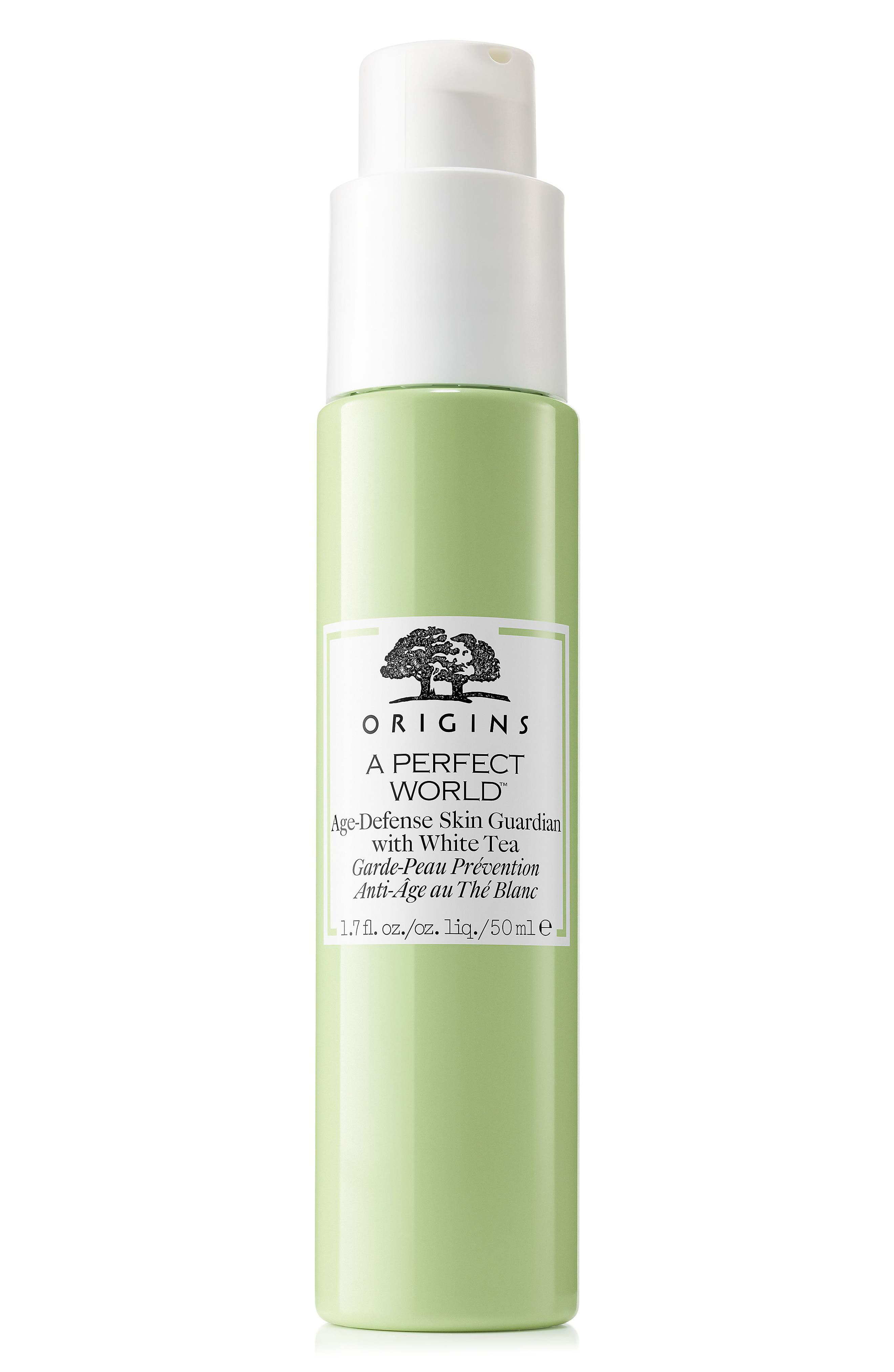 A Perfect World<sup>™</sup> Age-Defense Skin Guardian with White Tea,                             Main thumbnail 1, color,                             NO COLOR