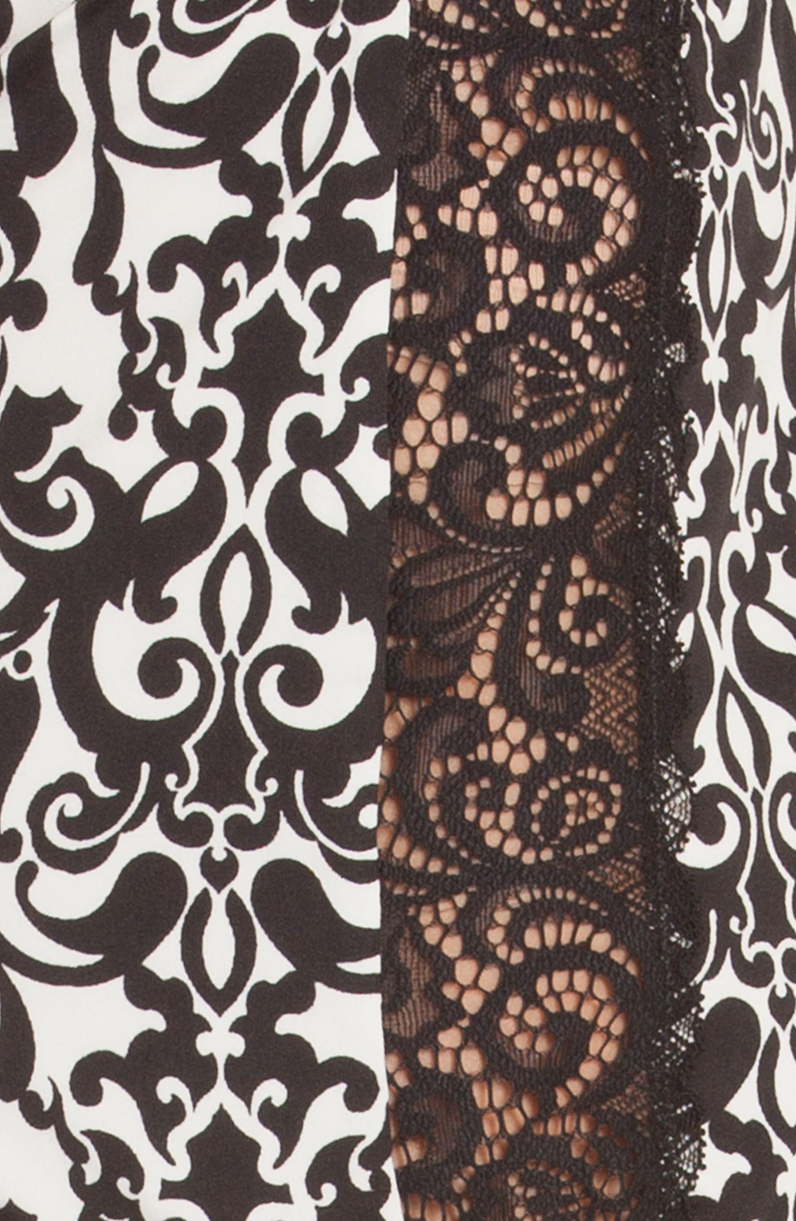 Konya Pajama Shorts,                             Alternate thumbnail 5, color,                             001