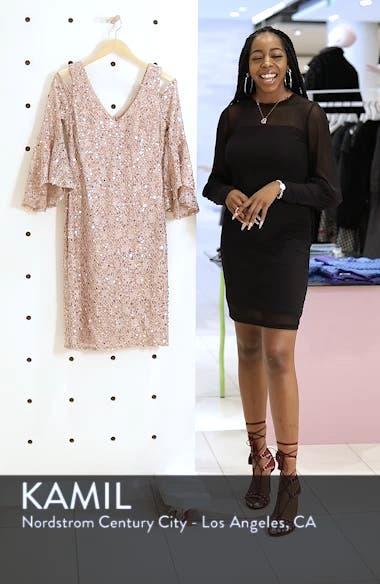 Sequin Lace Cocktail Sheath, sales video thumbnail