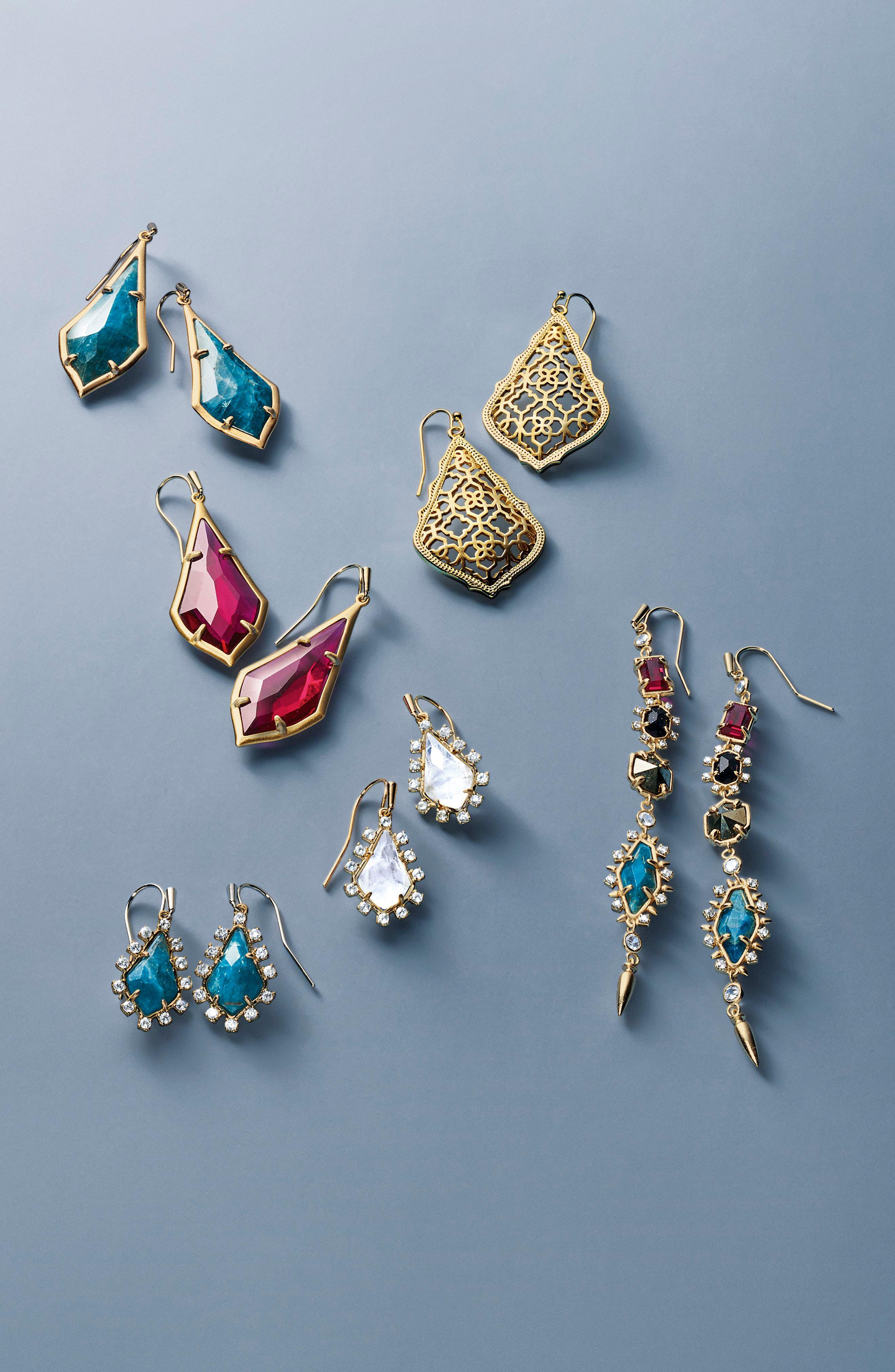 Leandra Linear Earrings,                             Alternate thumbnail 5, color,                             040
