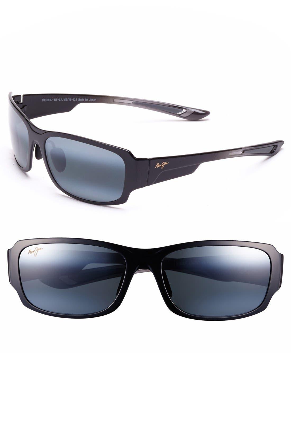 'Forest - PolarizedPlus<sup>®</sup>2' 60mm Sunglasses,                             Main thumbnail 1, color,                             METALLIC GLOSS COPPER