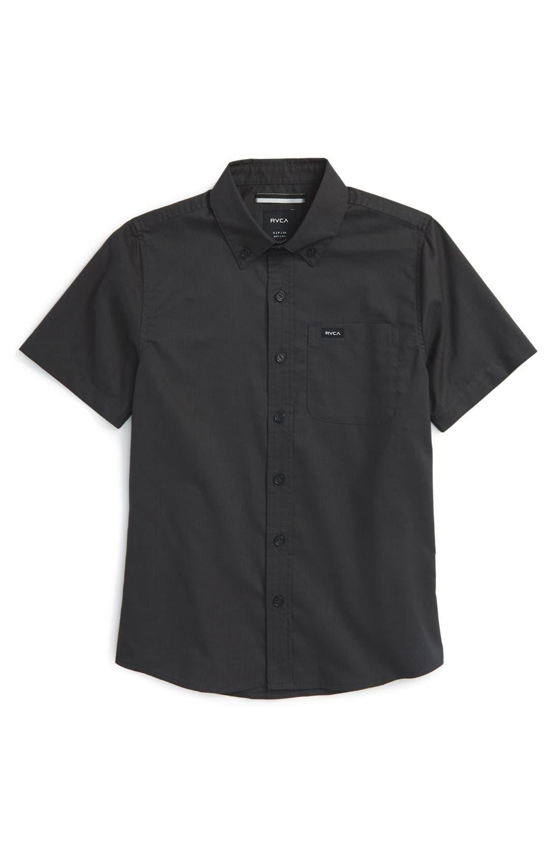 'That'll Do' Woven Shirt,                             Main thumbnail 9, color,