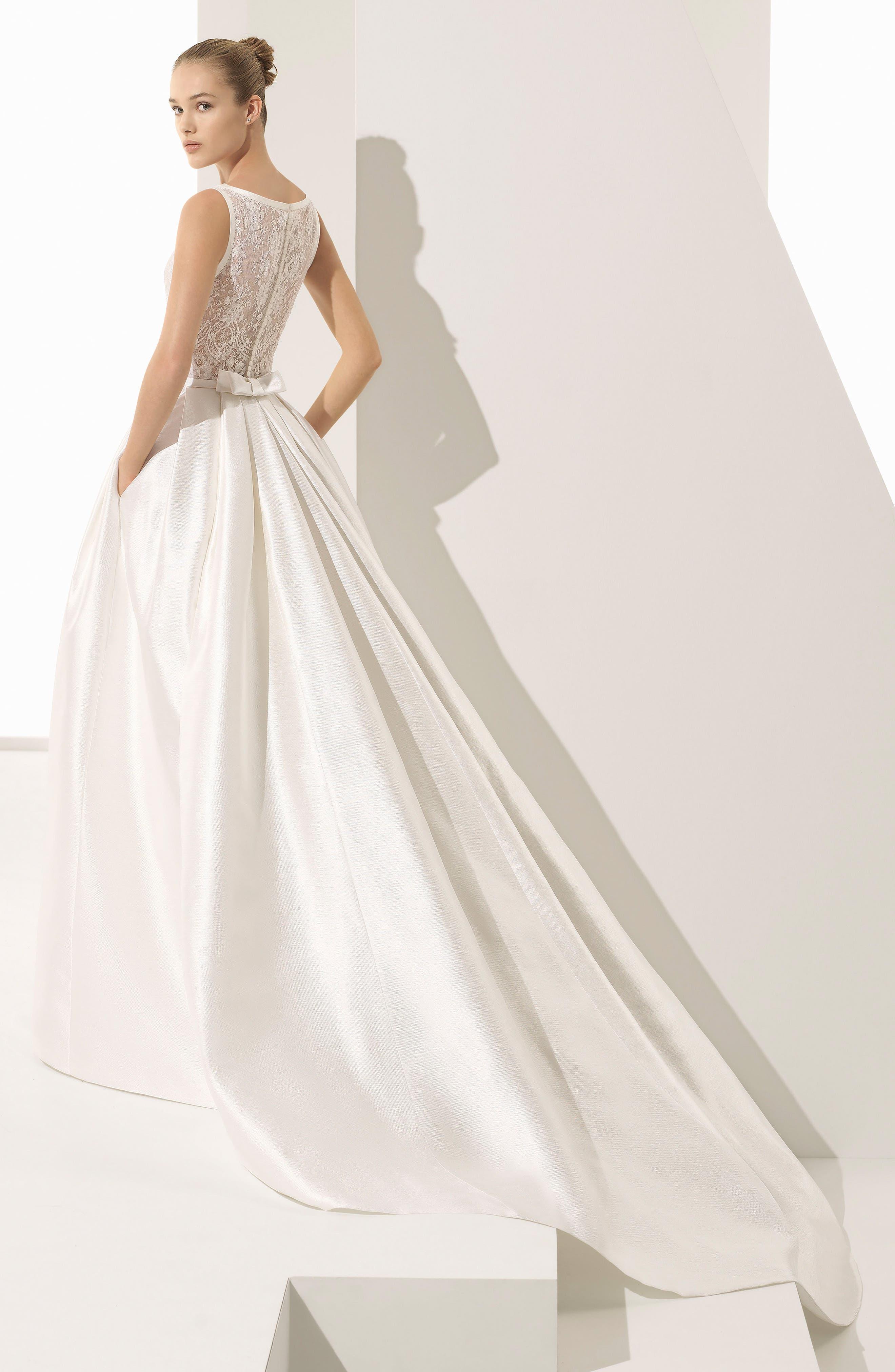 Rosa Clara Couture Parker Silk Blend Ballgown,                             Alternate thumbnail 2, color,                             900