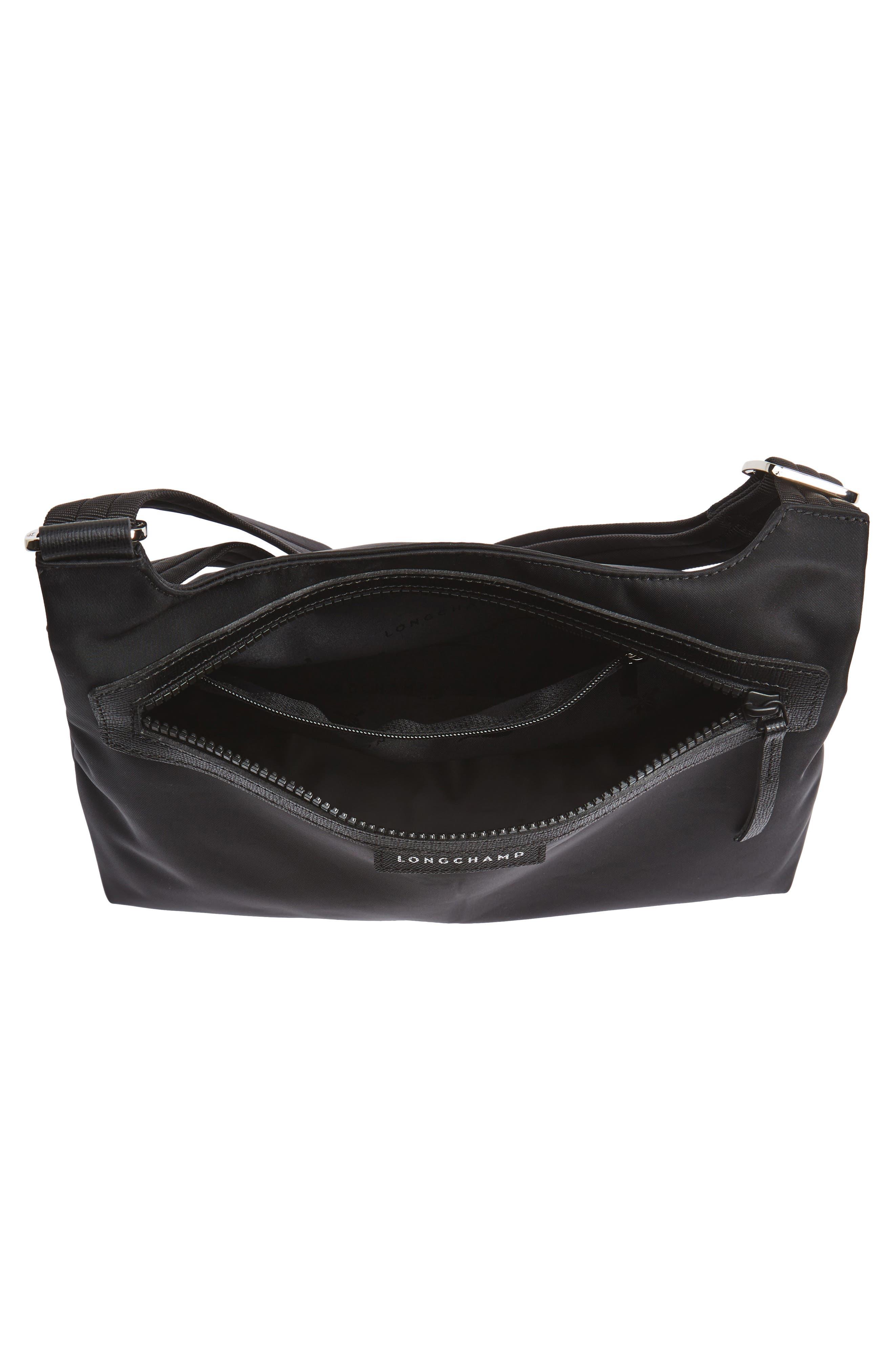 'Le Pliage Neo' Nylon Crossbody Bag,                             Alternate thumbnail 5, color,                             BLACK