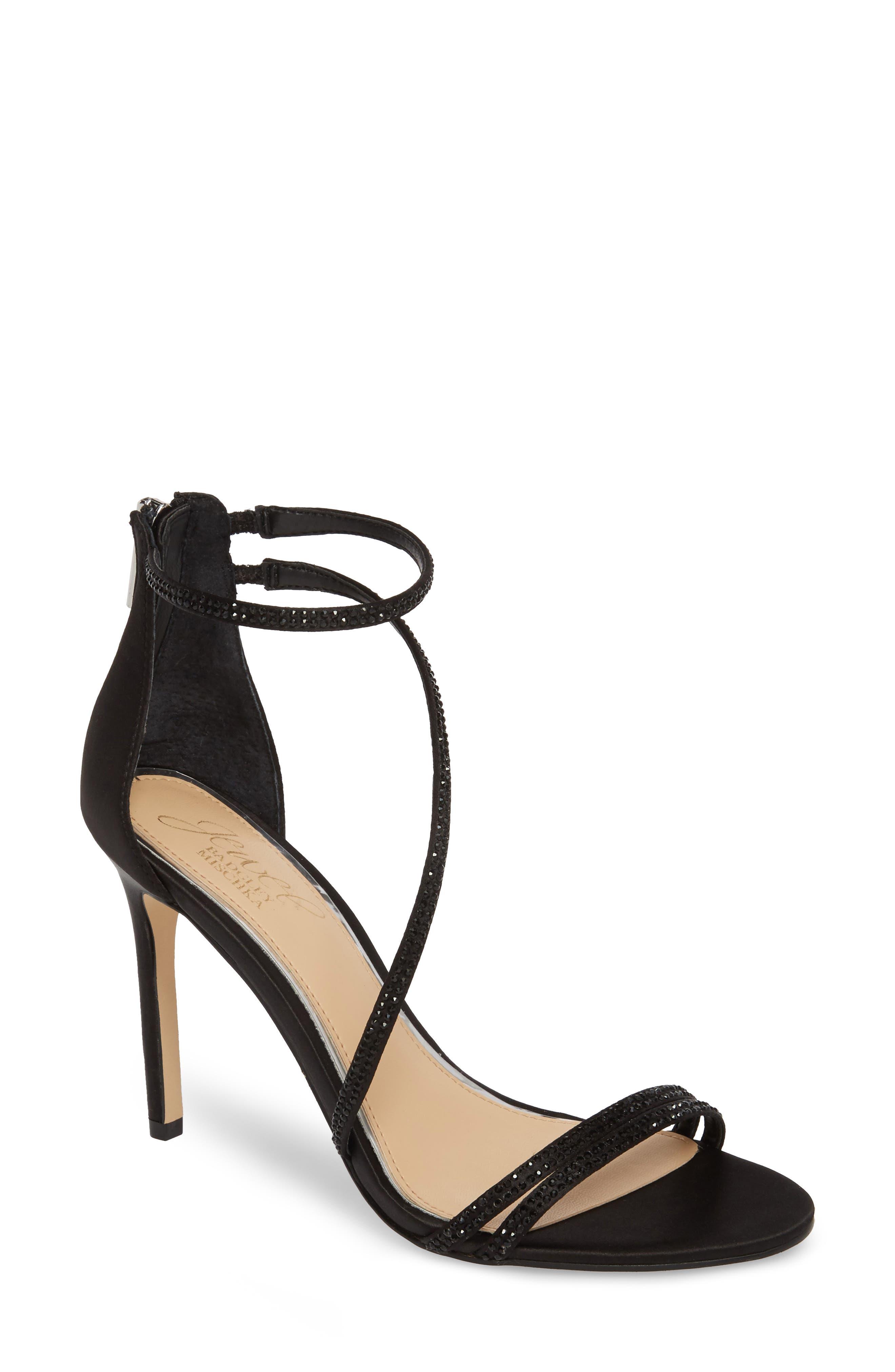 Gail Crystal Embellished Sandal,                         Main,                         color,