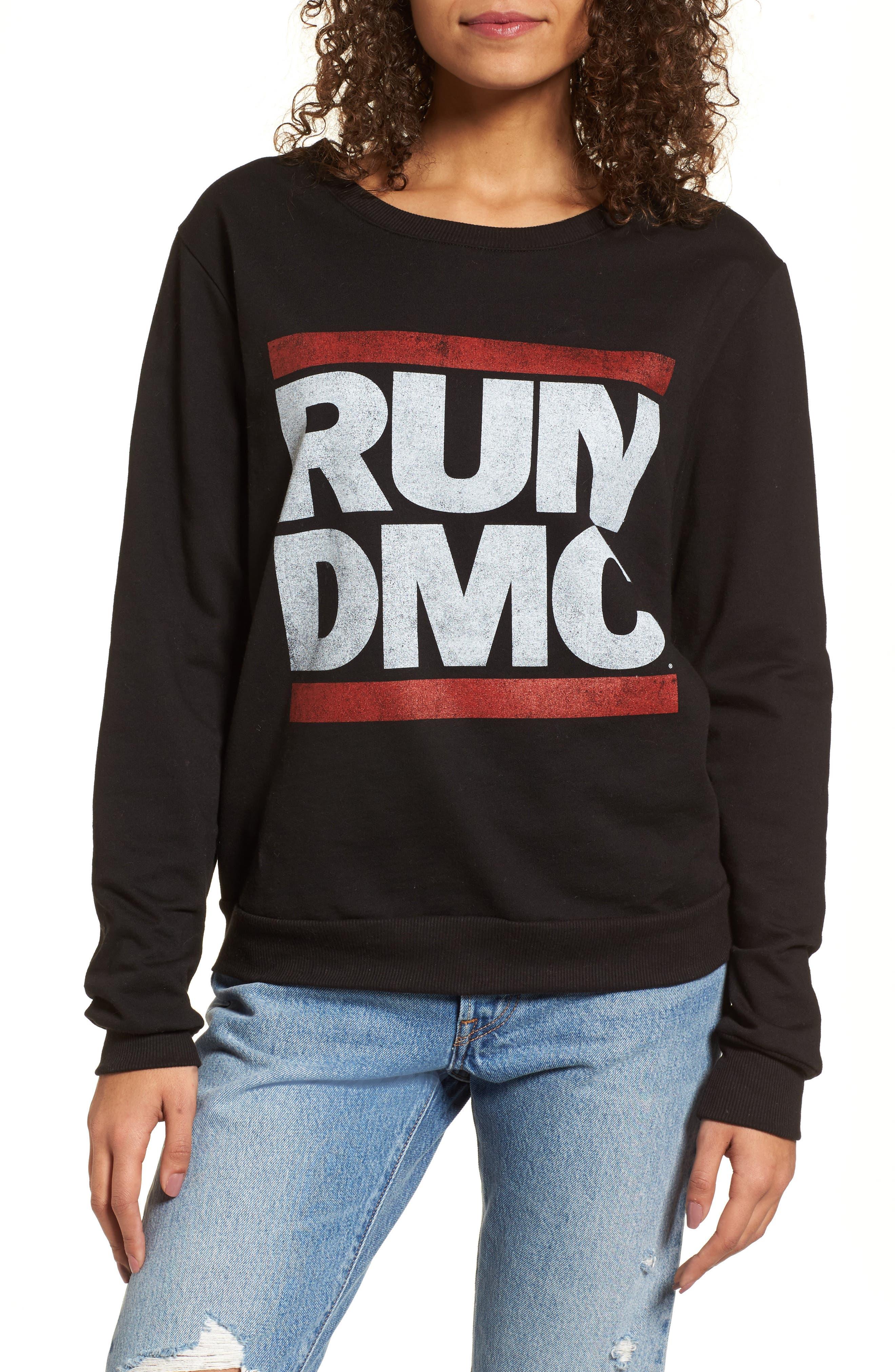 Run-DMC Sweatshirt,                             Main thumbnail 1, color,                             001