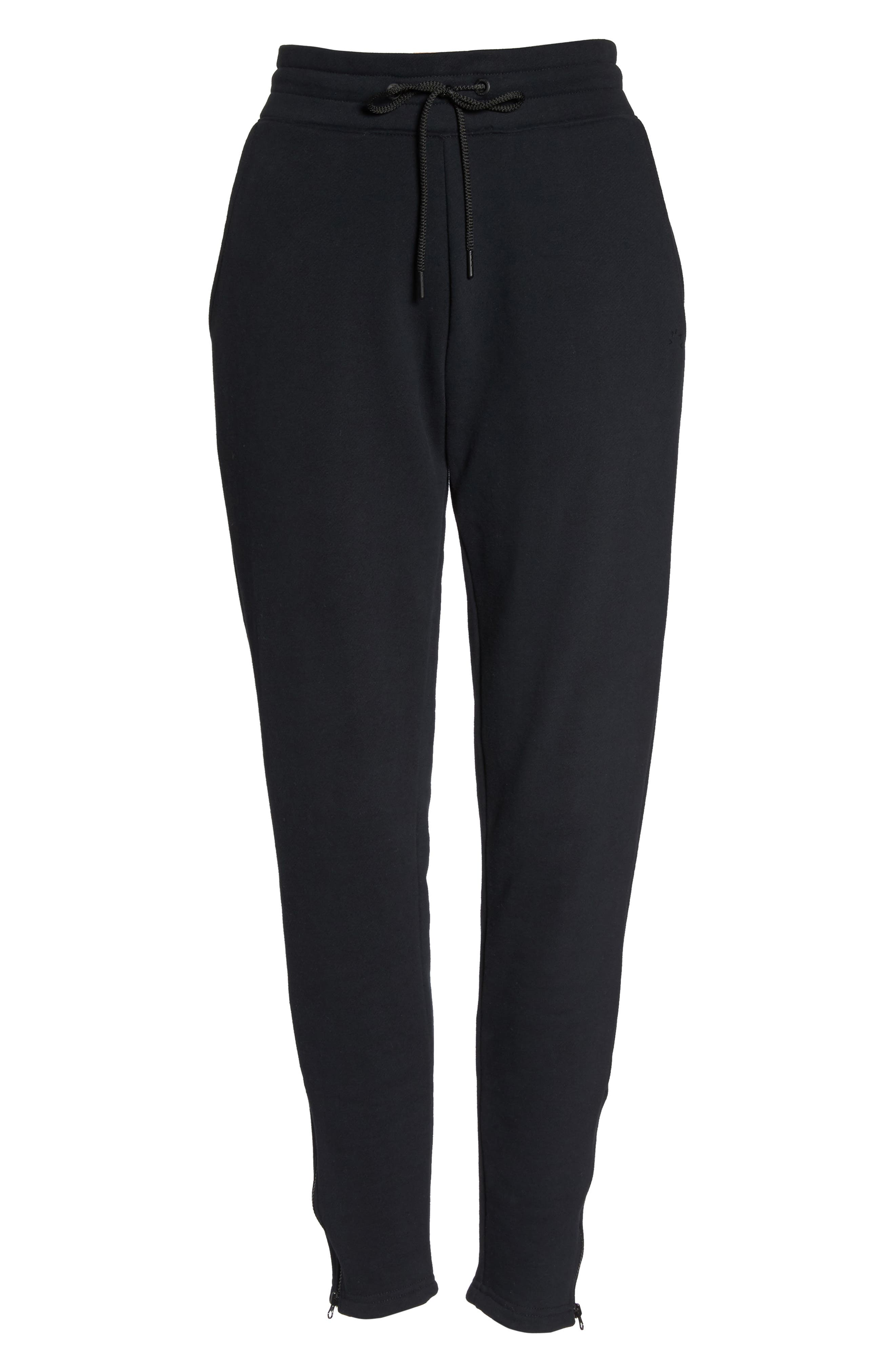 Finley Track Pants,                             Alternate thumbnail 7, color,                             001