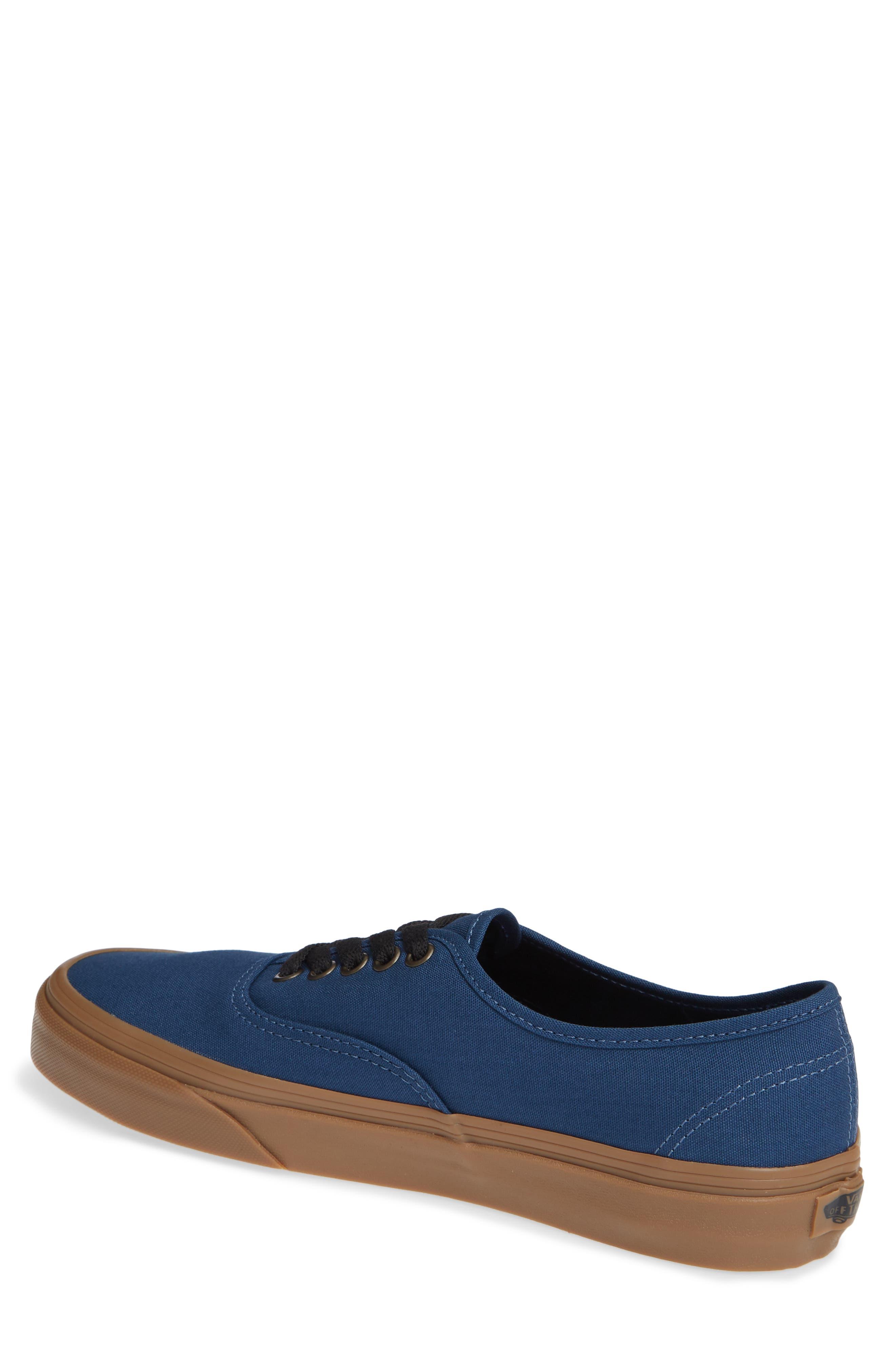VANS,                             Authentic Gum Outsole Sneaker,                             Alternate thumbnail 2, color,                             401