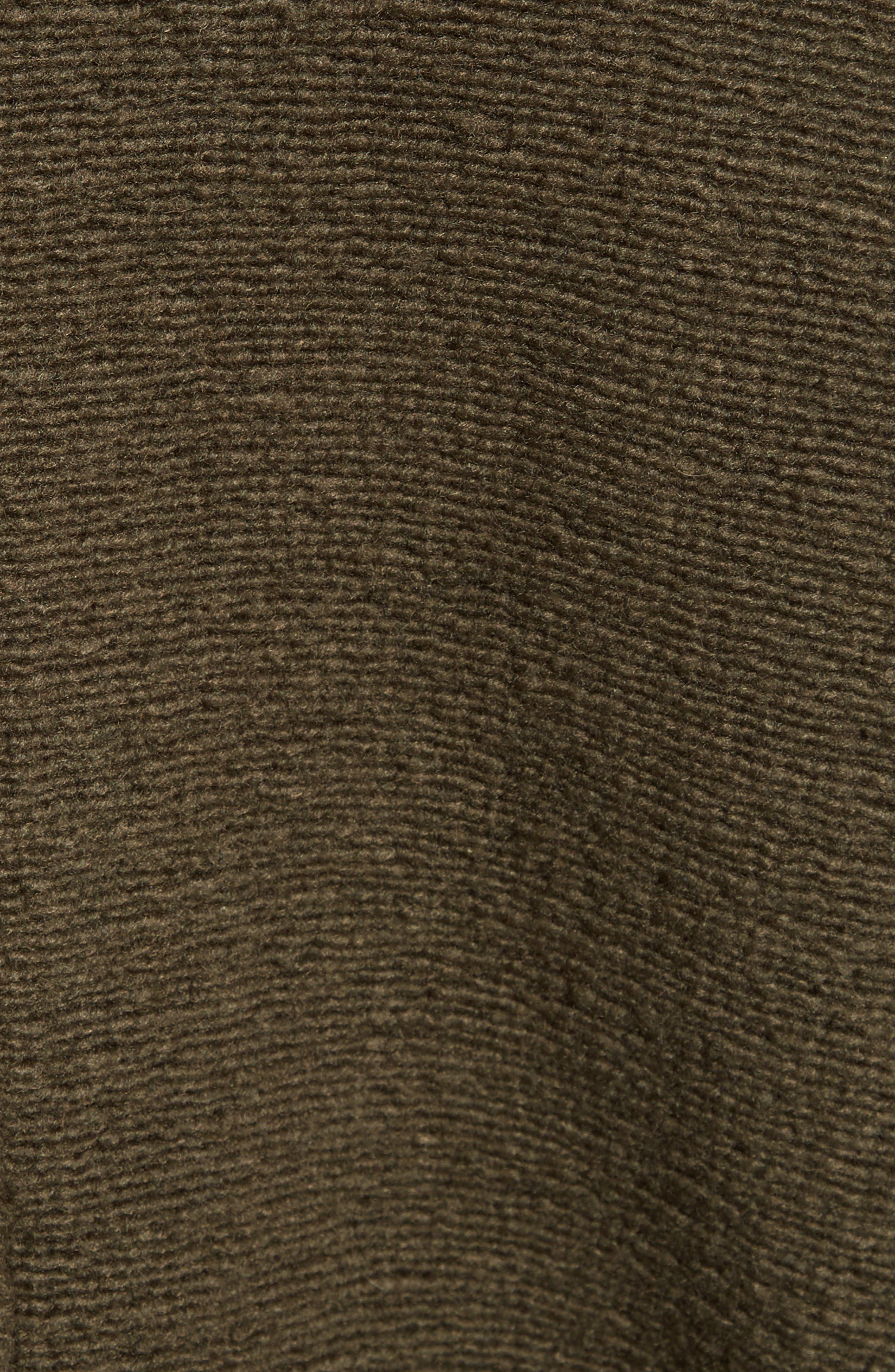 Bouclé Knit Peacoat,                             Alternate thumbnail 5, color,