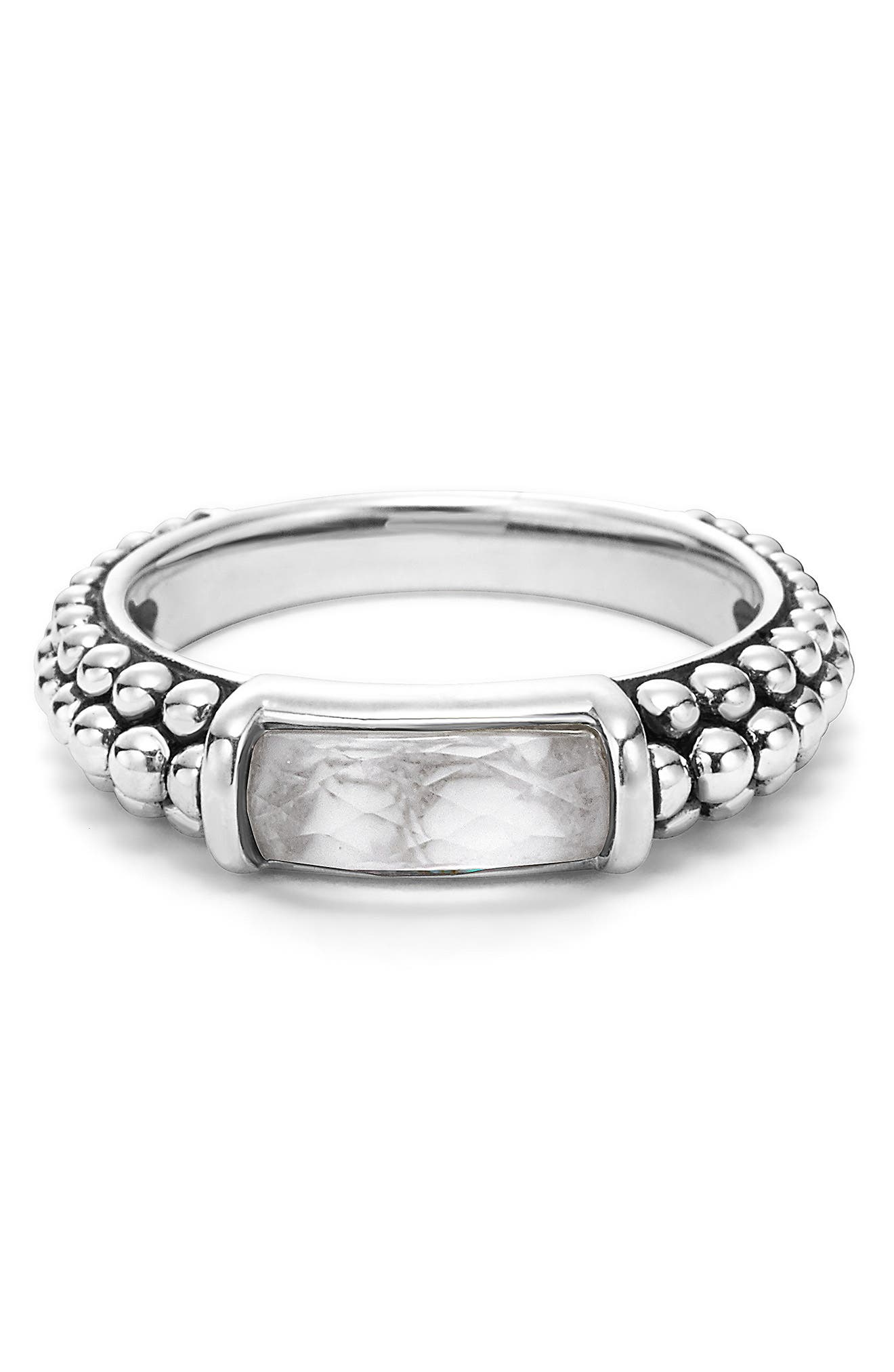 'Maya' Stackable Caviar Ring,                             Alternate thumbnail 5, color,                             040