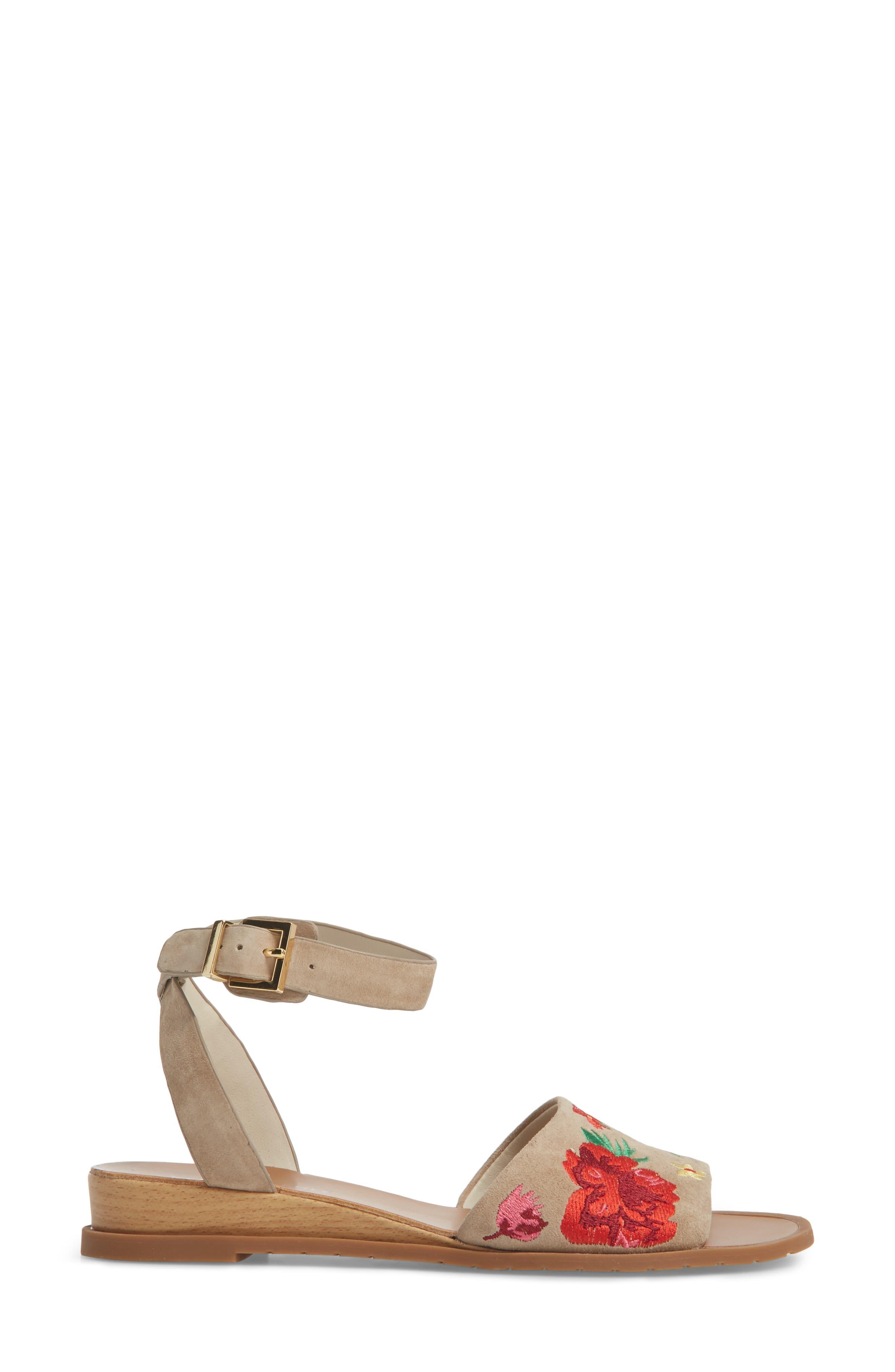 Jinny Ankle Strap Sandal,                             Alternate thumbnail 3, color,                             250